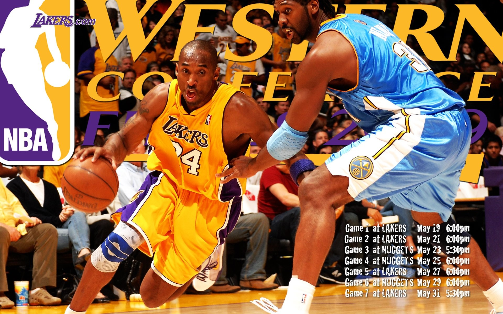 Res: 1920x1200, Los Angeles Lakers : Lakers 2009 NBA Champions Wallpapers 1920*1200  Wallpaper 9
