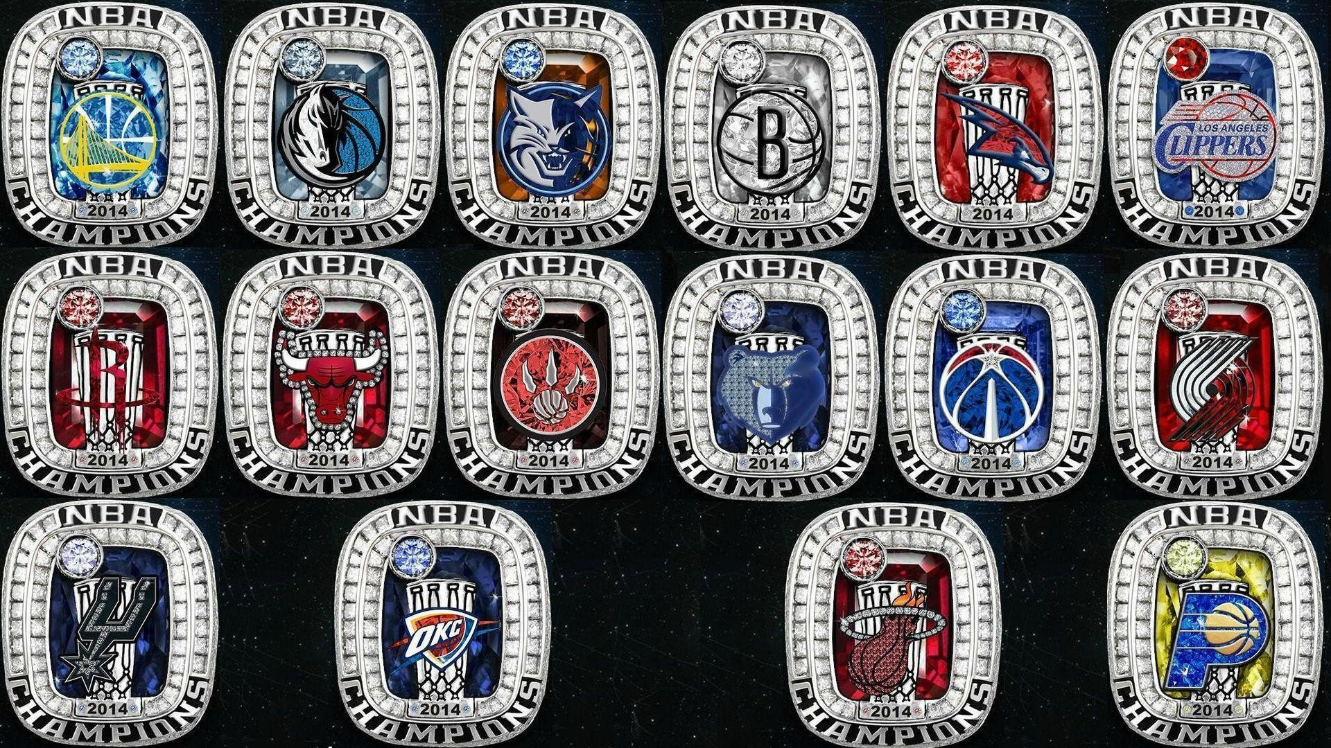 Res: 1920x1080, The NBA tweeted out 2014 championship rings for each team : nba