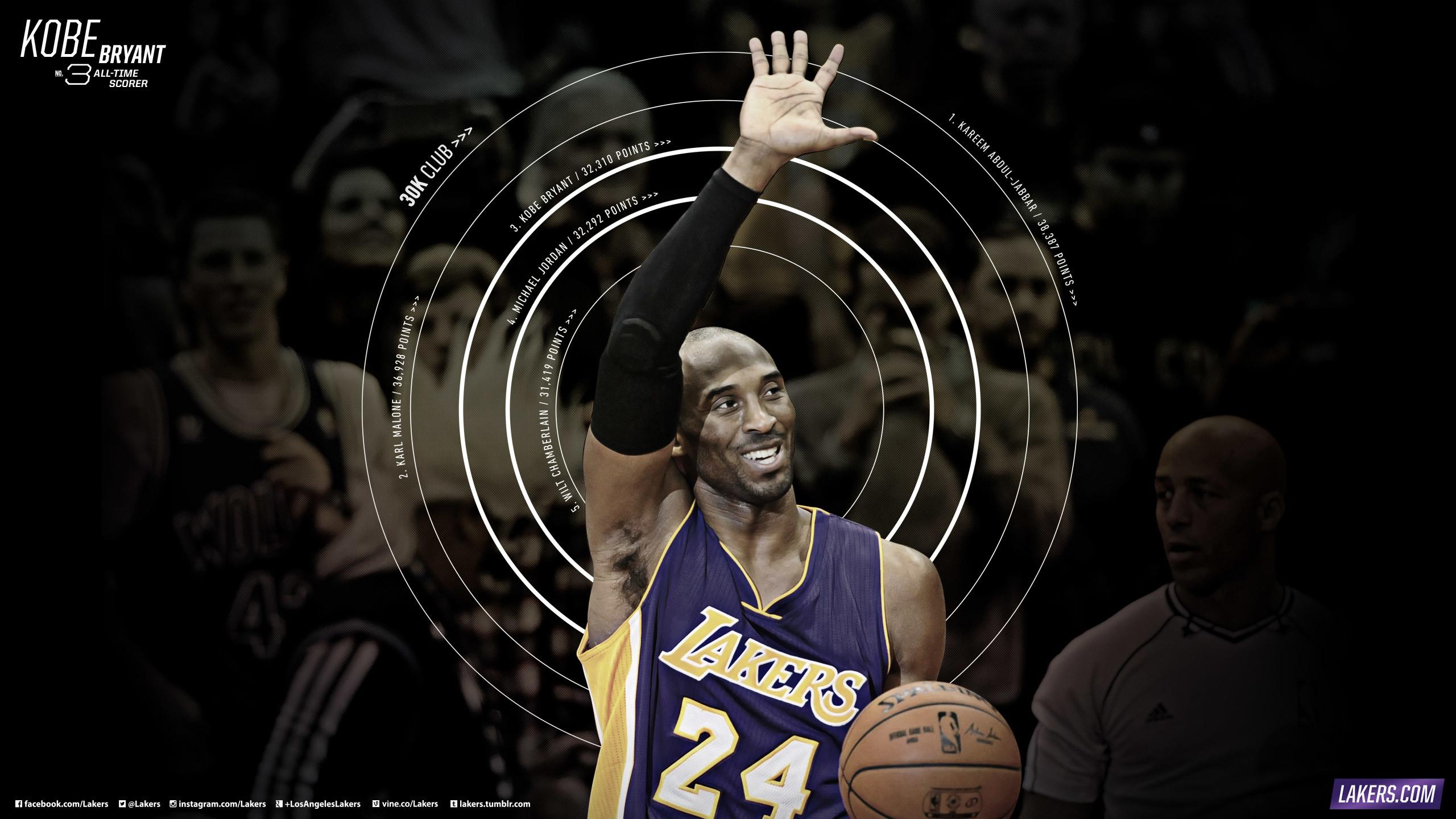 Res: 2560x1440, Kobe Passes Michael Jordan. Kobe Bryant Passes Michael Jordan