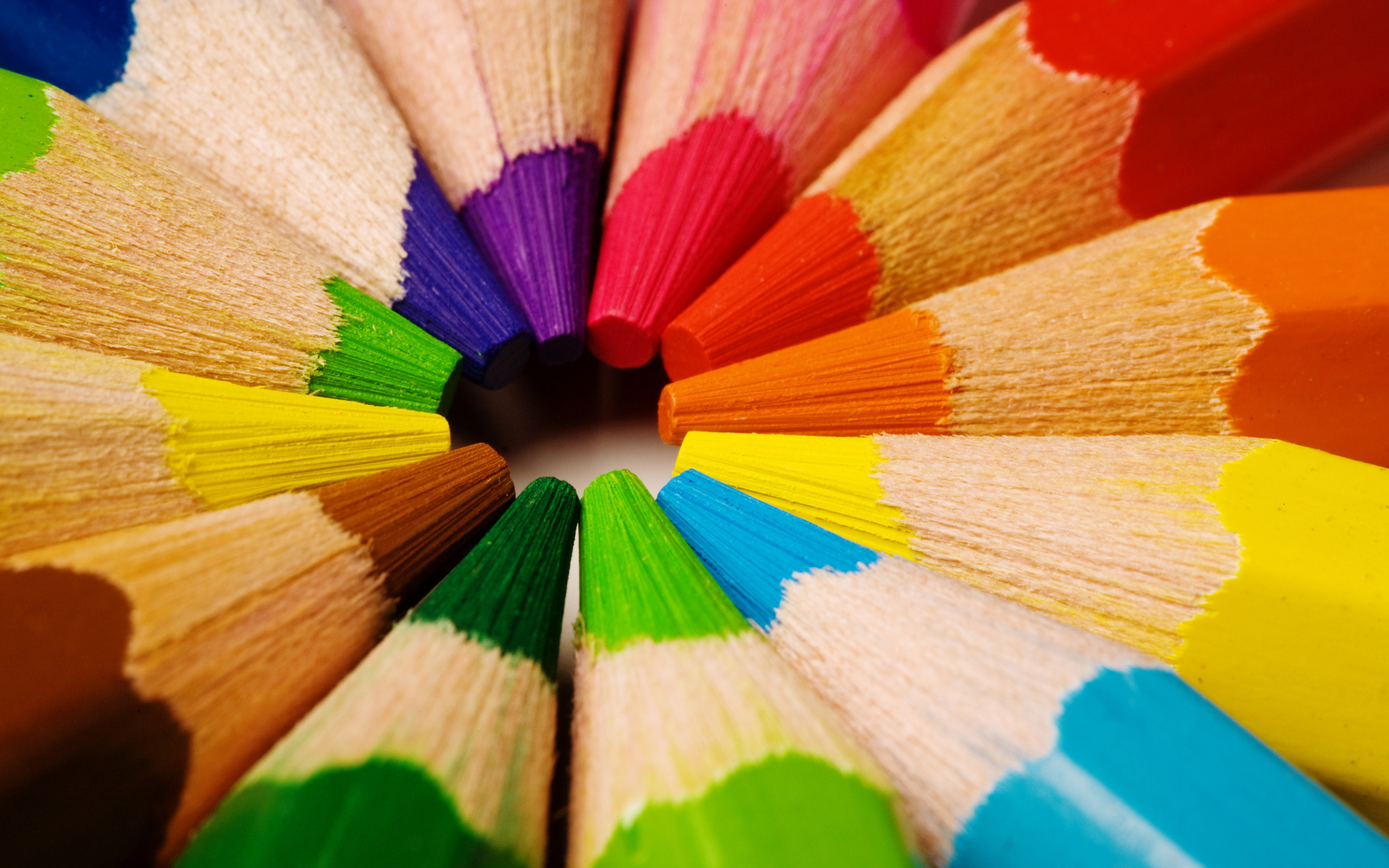 Res: 2560x1600, Pencil Color Rainbow Wallpaper Wallpaper