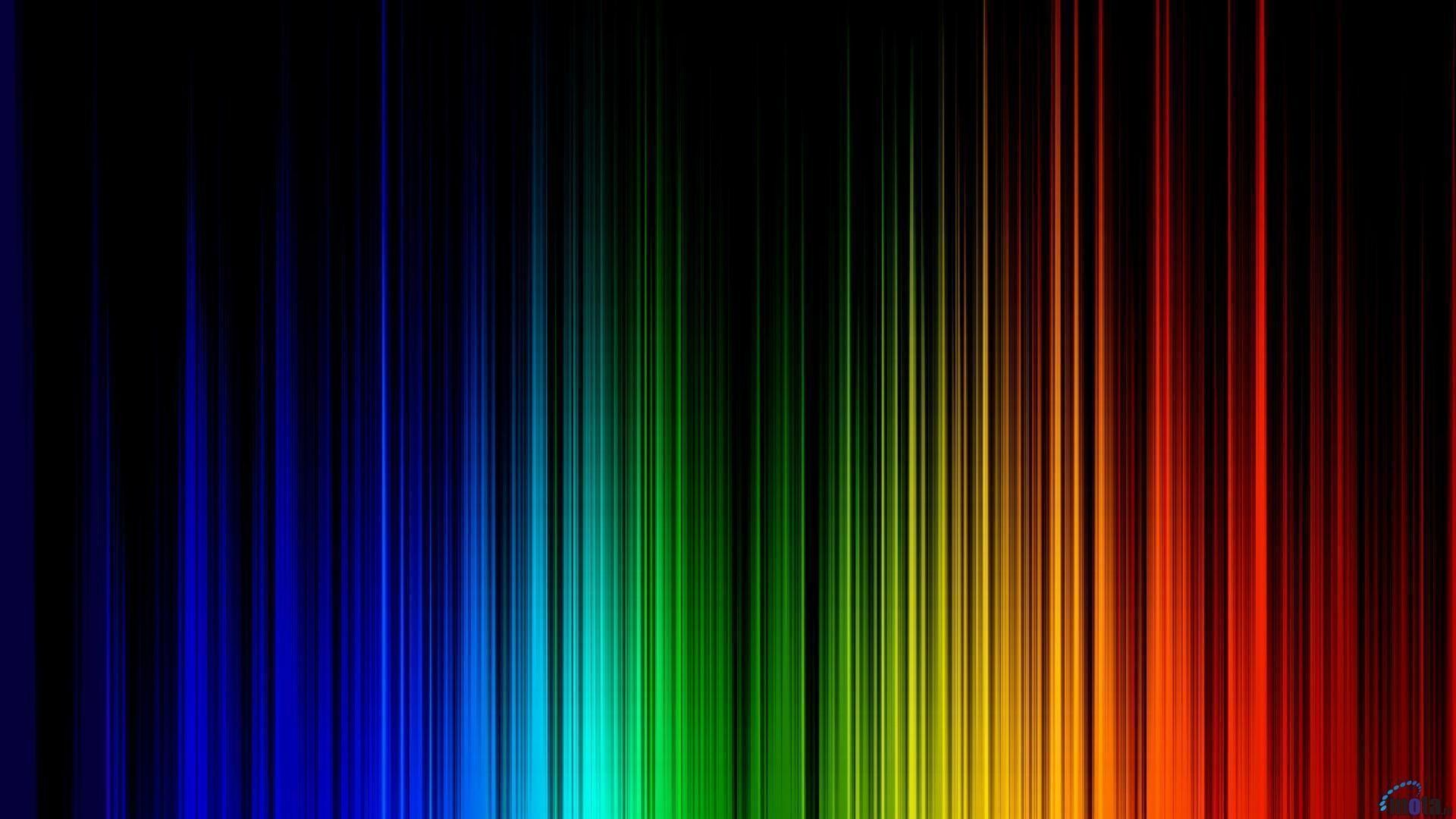 Res: 1920x1080, Rainbow Colors Background Wallpaper