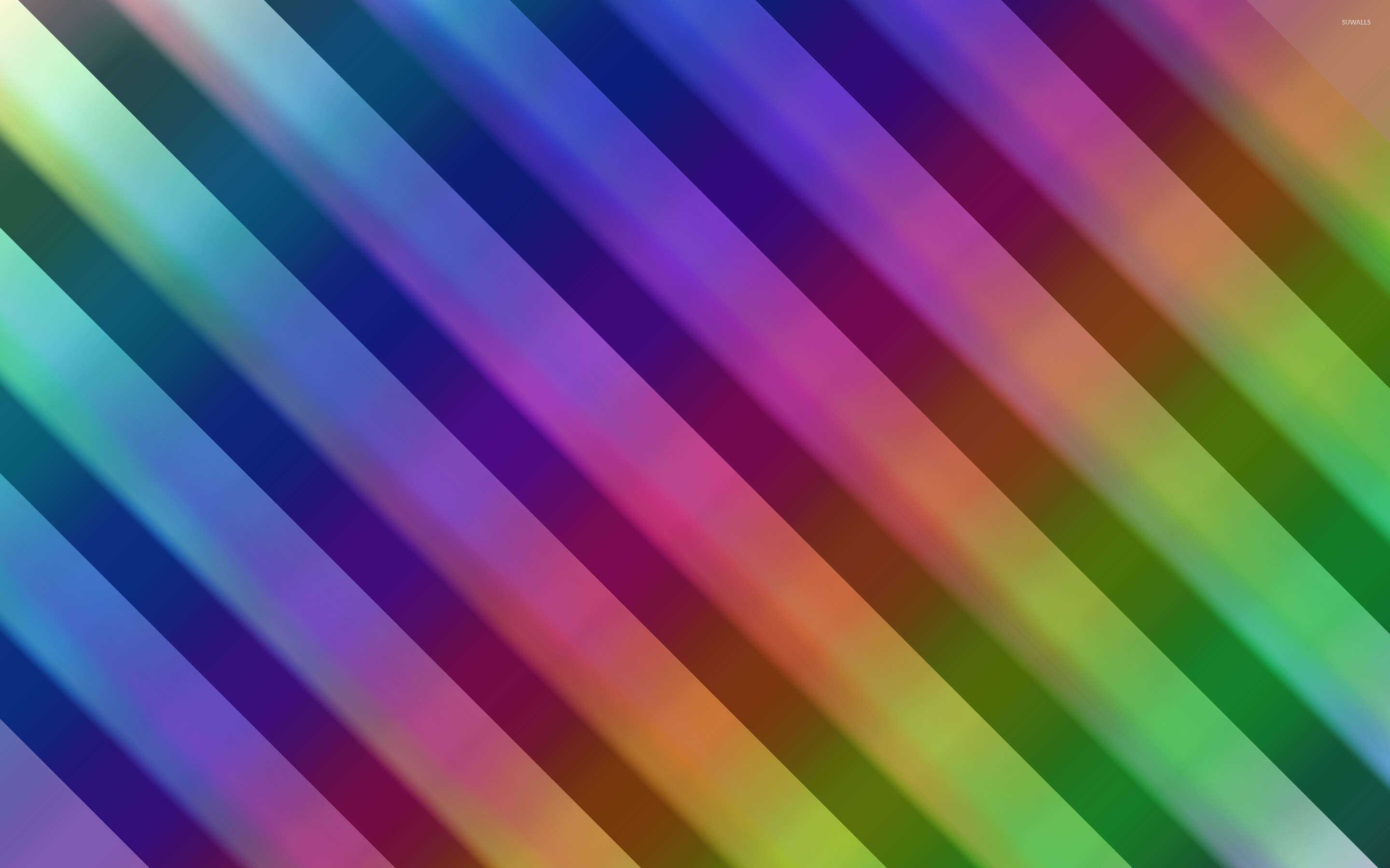 Res: 2880x1800, Rainbow colored diagonal stripe wallpaper