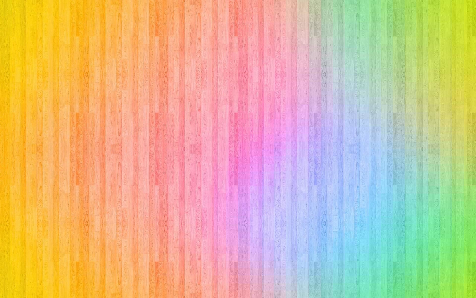 Res: 1920x1200, Rainbow colored wood