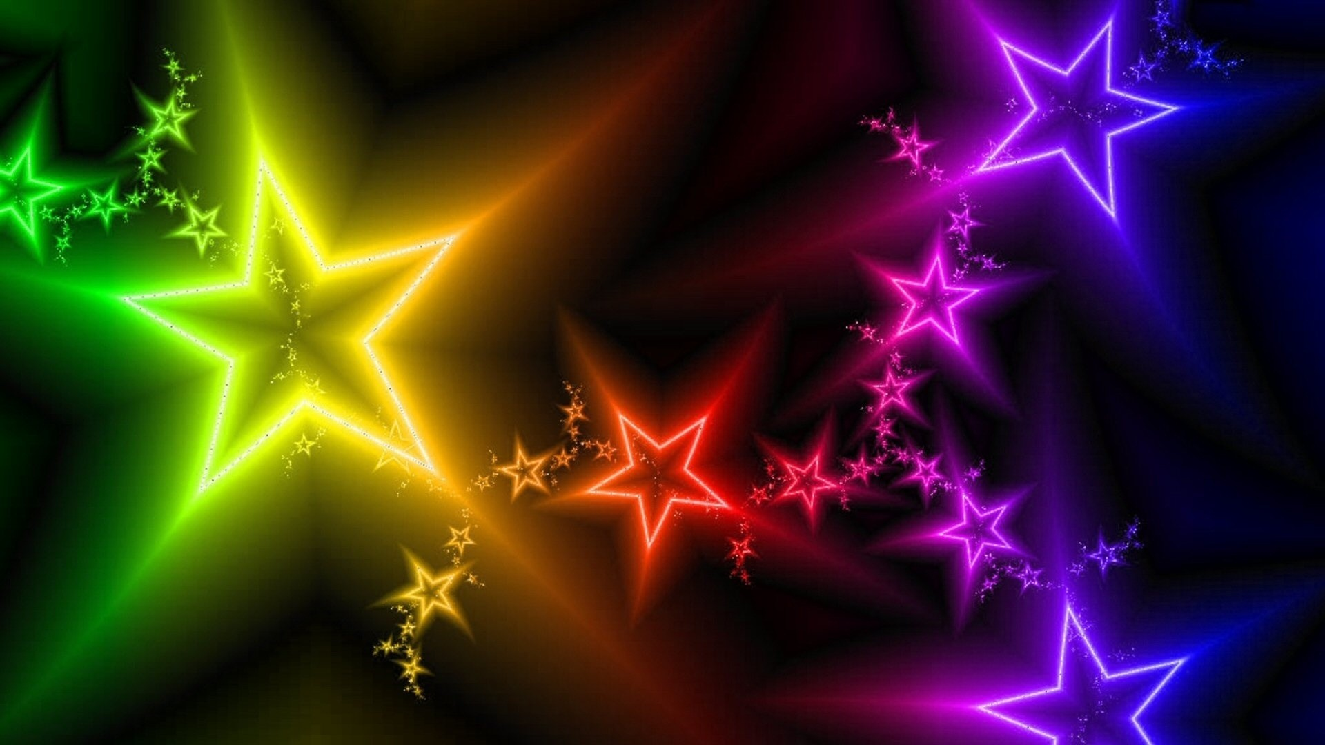 Res: 1920x1080, Colorful Stars Wallpapers wallpaper Colorful Stars Wallpapers hd
