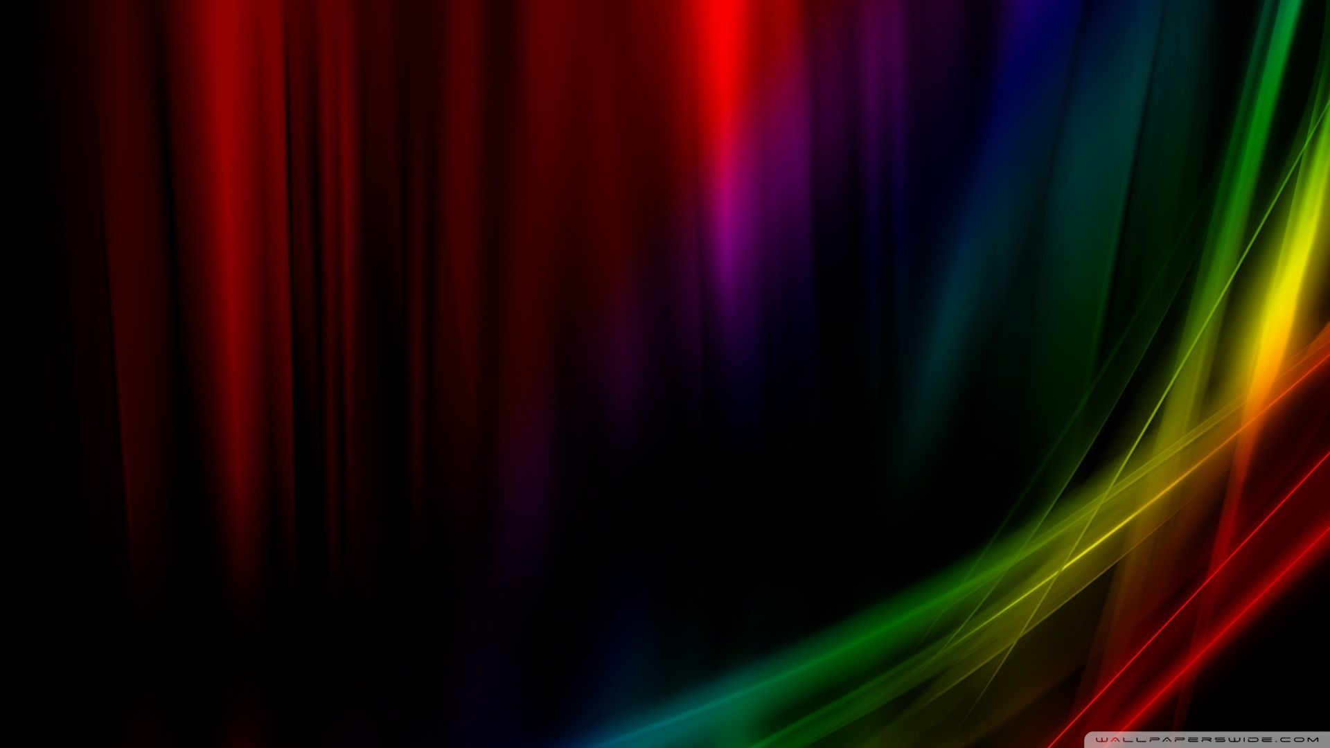 Res: 1920x1080, Find out: Black Rainbow HD Wallpaper wallpaper on http://hdpicorner.com