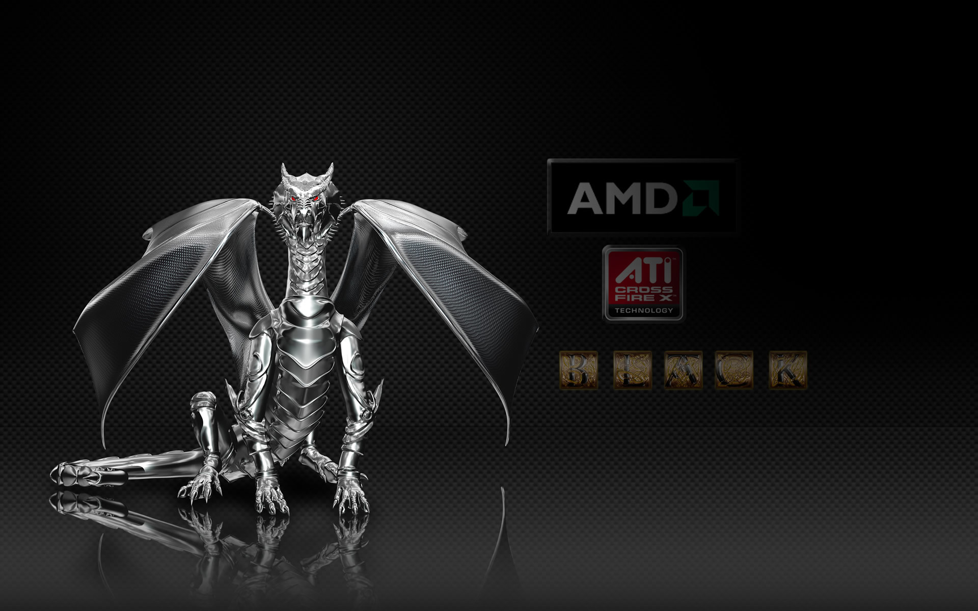Res: 1920x1200, SY.164 AMD Dragon Wallpapers (Mobile Compatible), 0.27 Mb