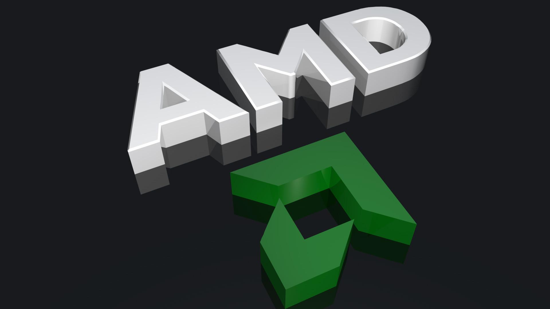 Res: 1920x1080, 3D AMD Logo Wallpaper 3466