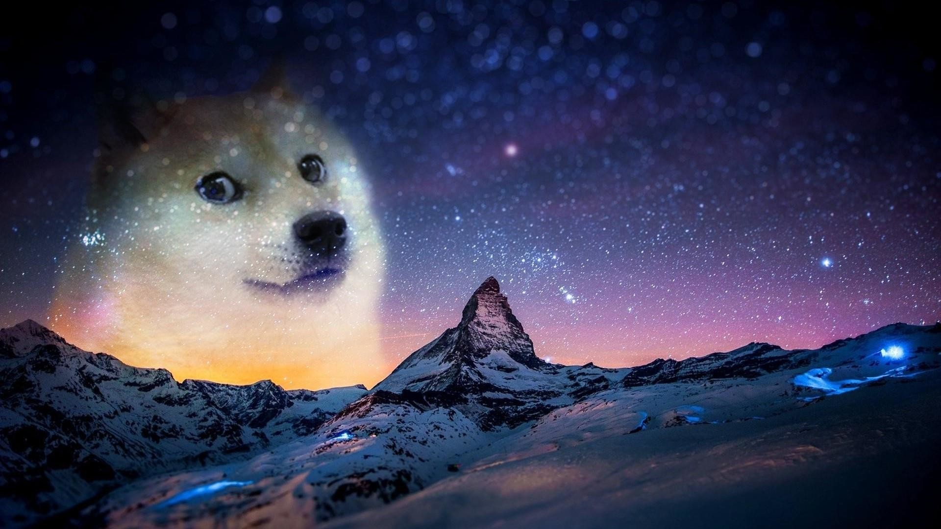Res: 1920x1080, Doge In Da Sky Wallpaper | Wallpaper Studio 10 | Tens of thousands HD and  UltraHD wallpapers for Android, Windows and Xbox