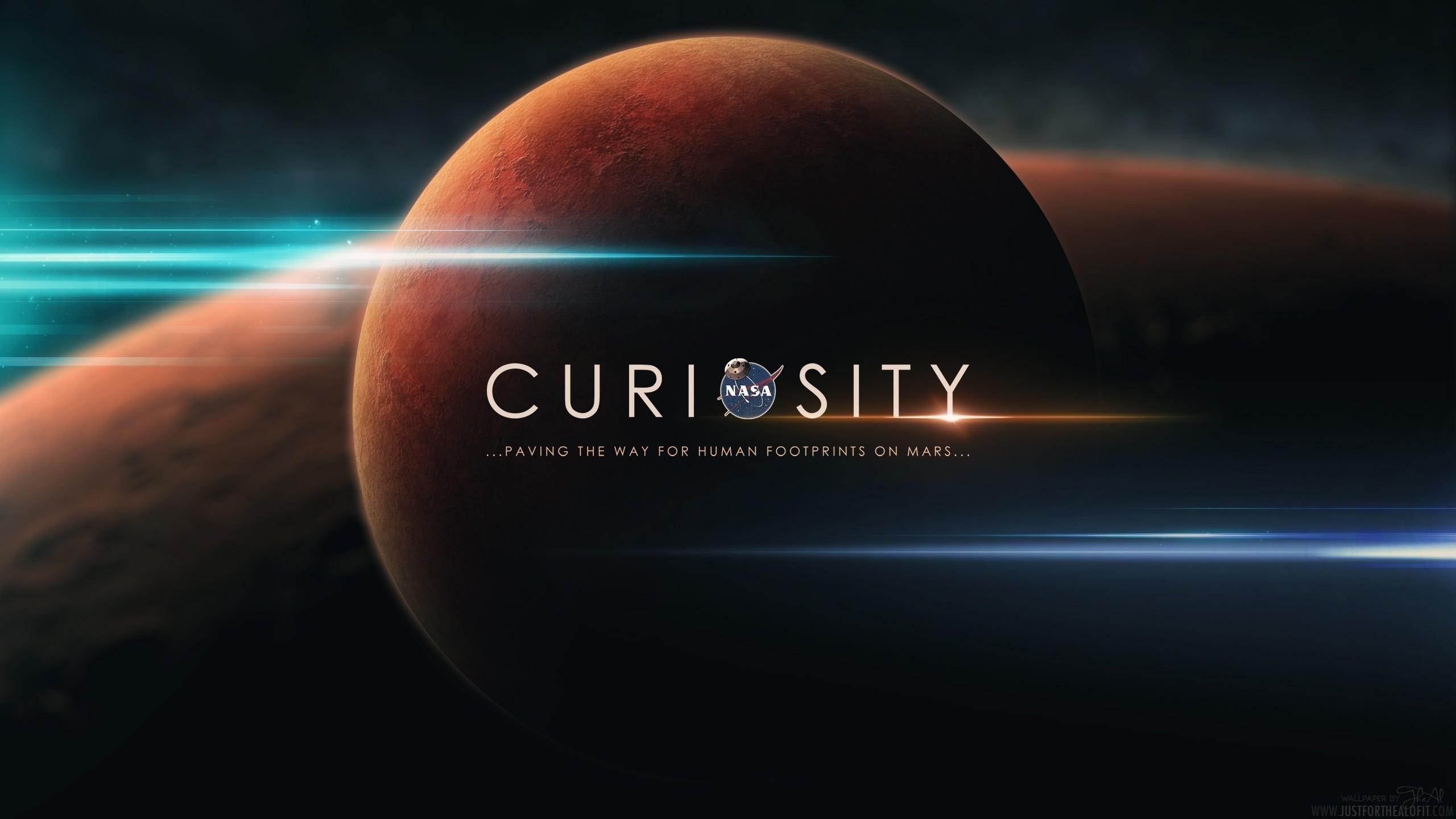Res: 2560x1440, Outer space Mars NASA
