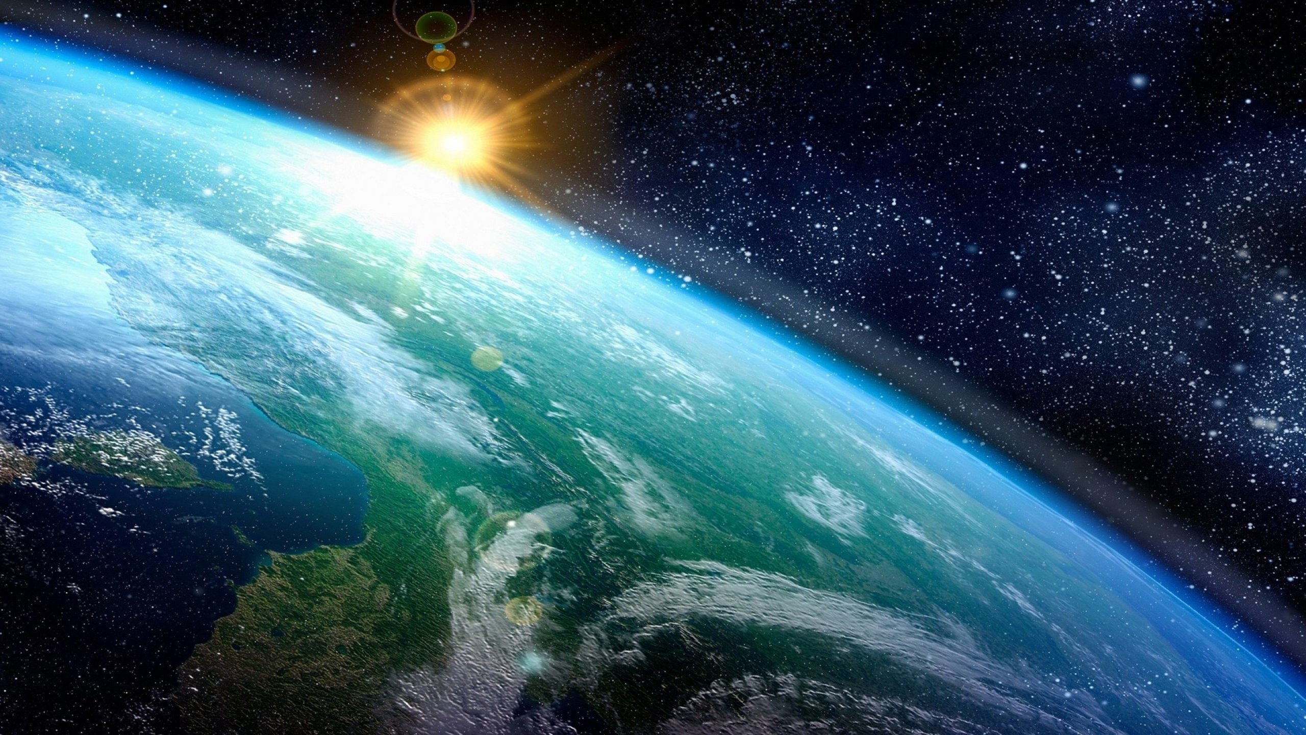 Res: 2560x1440, Photos Earth From Space. space wallpaper mobile catalog planet sky light  image.