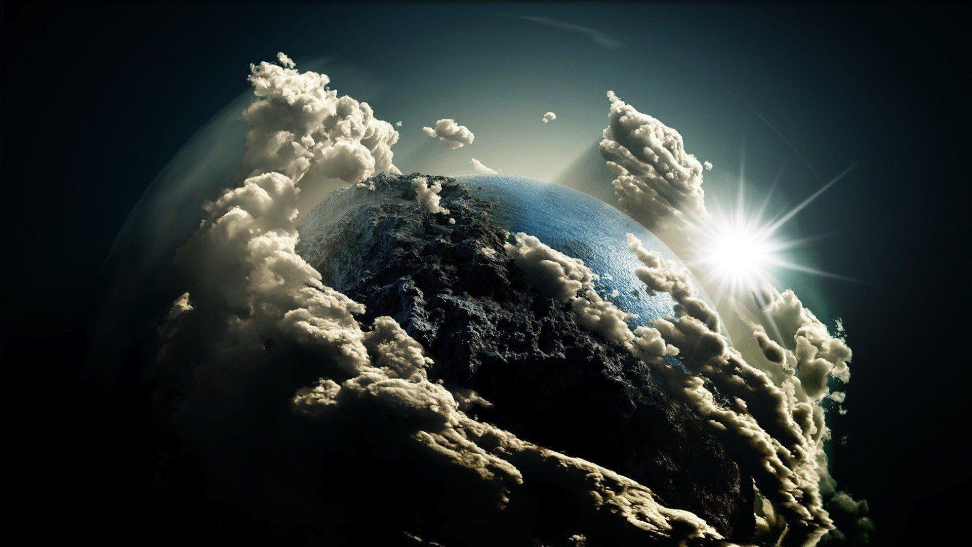 Res: 1920x1080, A Planet Like Earth HD desktop wallpaper Fullscreen