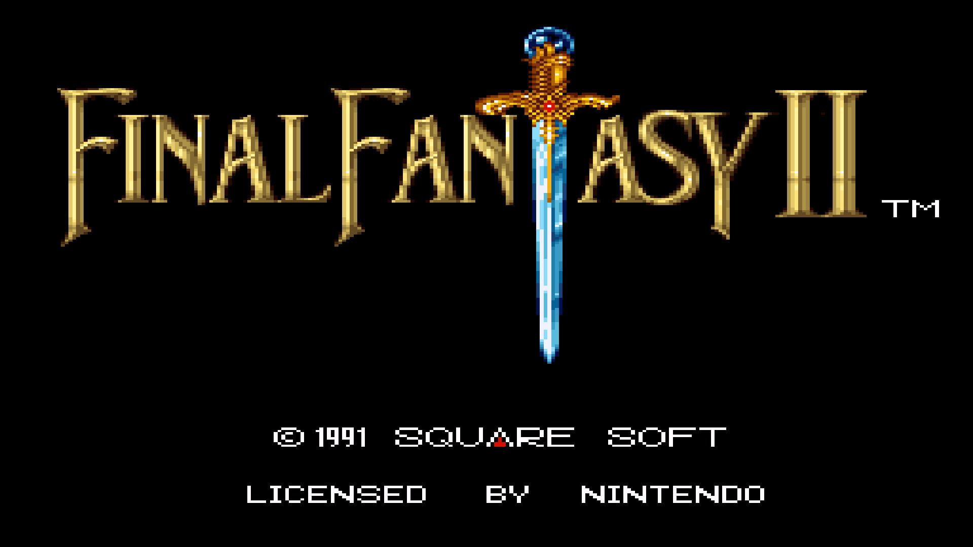 Res: 1920x1080, final fantasy 2 snes