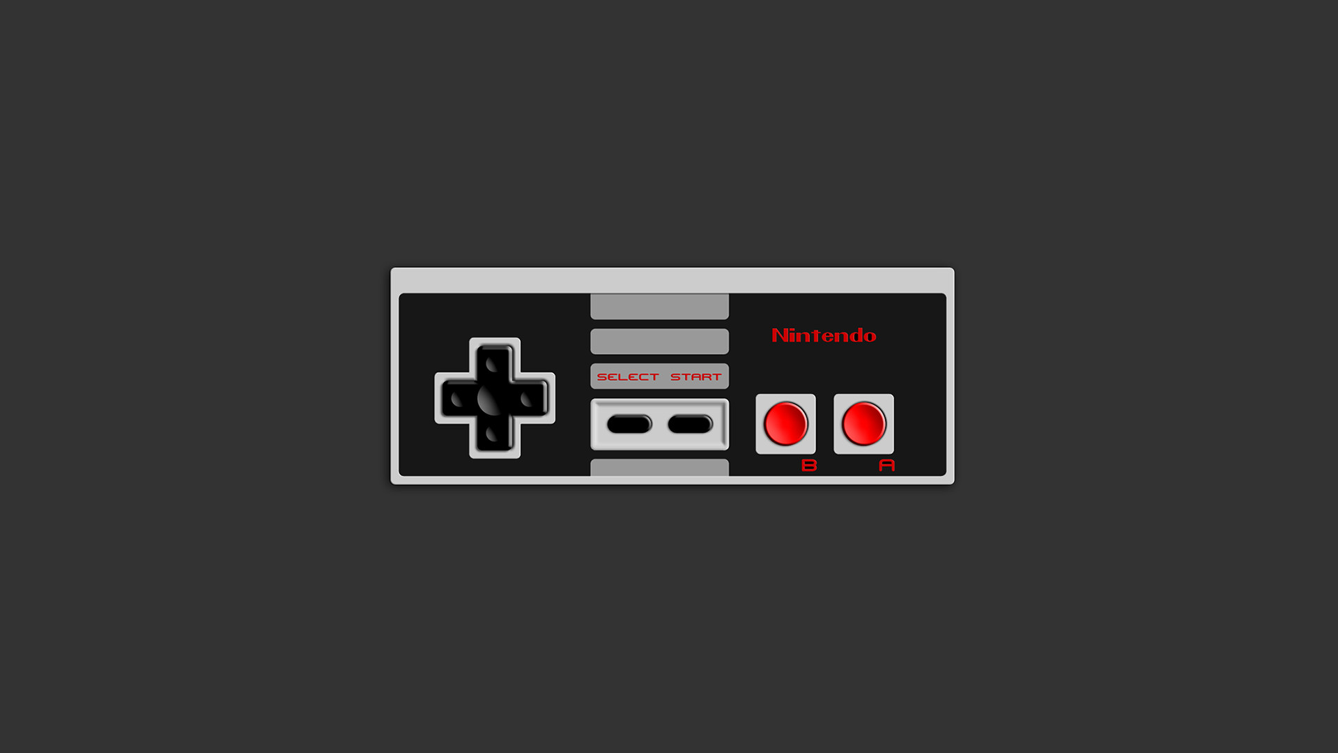 Res: 1920x1080, NES Controller -  by Kroontje NES Controller -  by  Kroontje