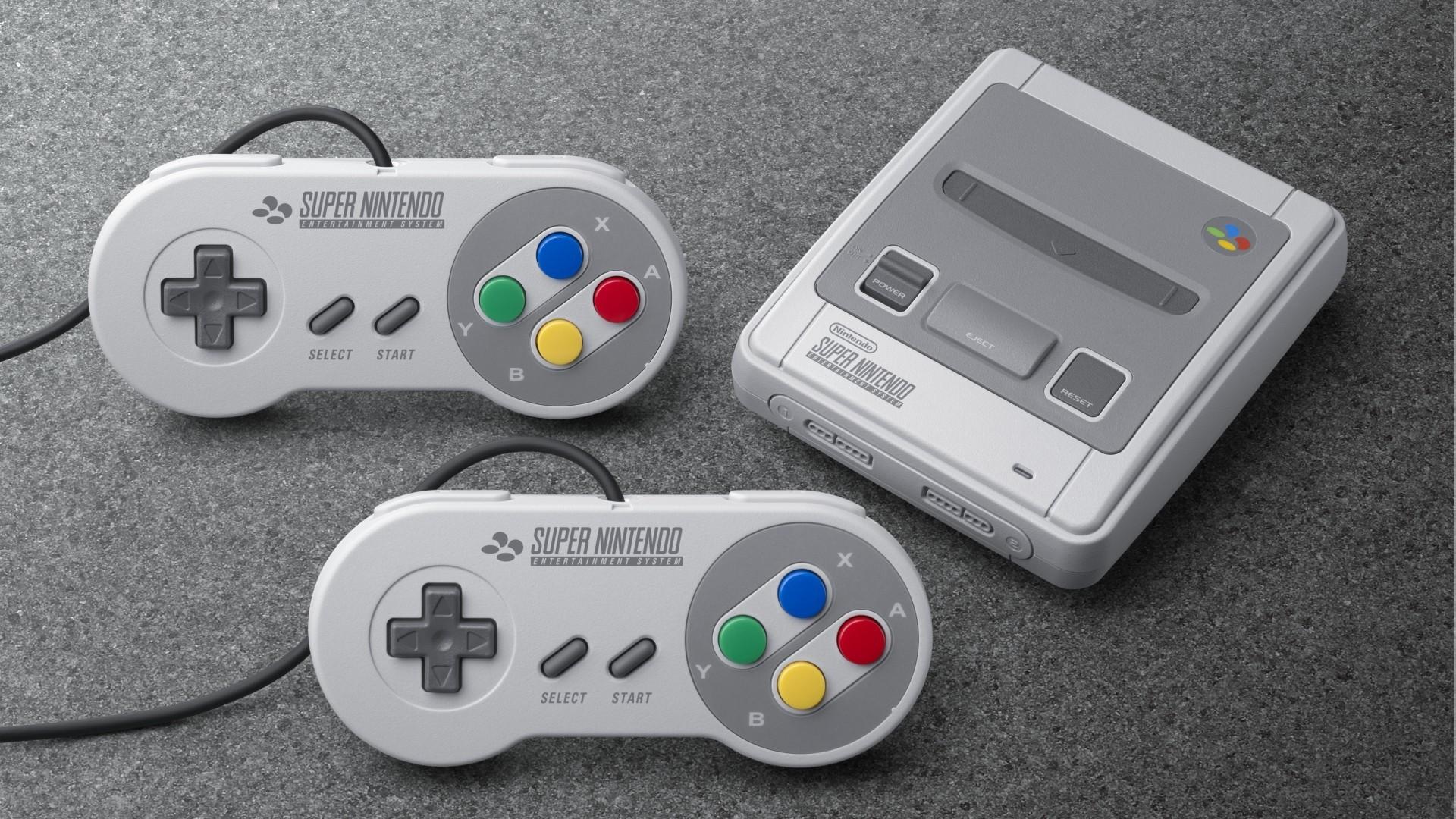 Res: 1920x1080, Das Nintendo Classic Mini: Super Nintendo Entertainment System erscheint am  29. September. Auch ohne Vorbestellung ist ein Besuch im  Elektronikfachhandel am ...