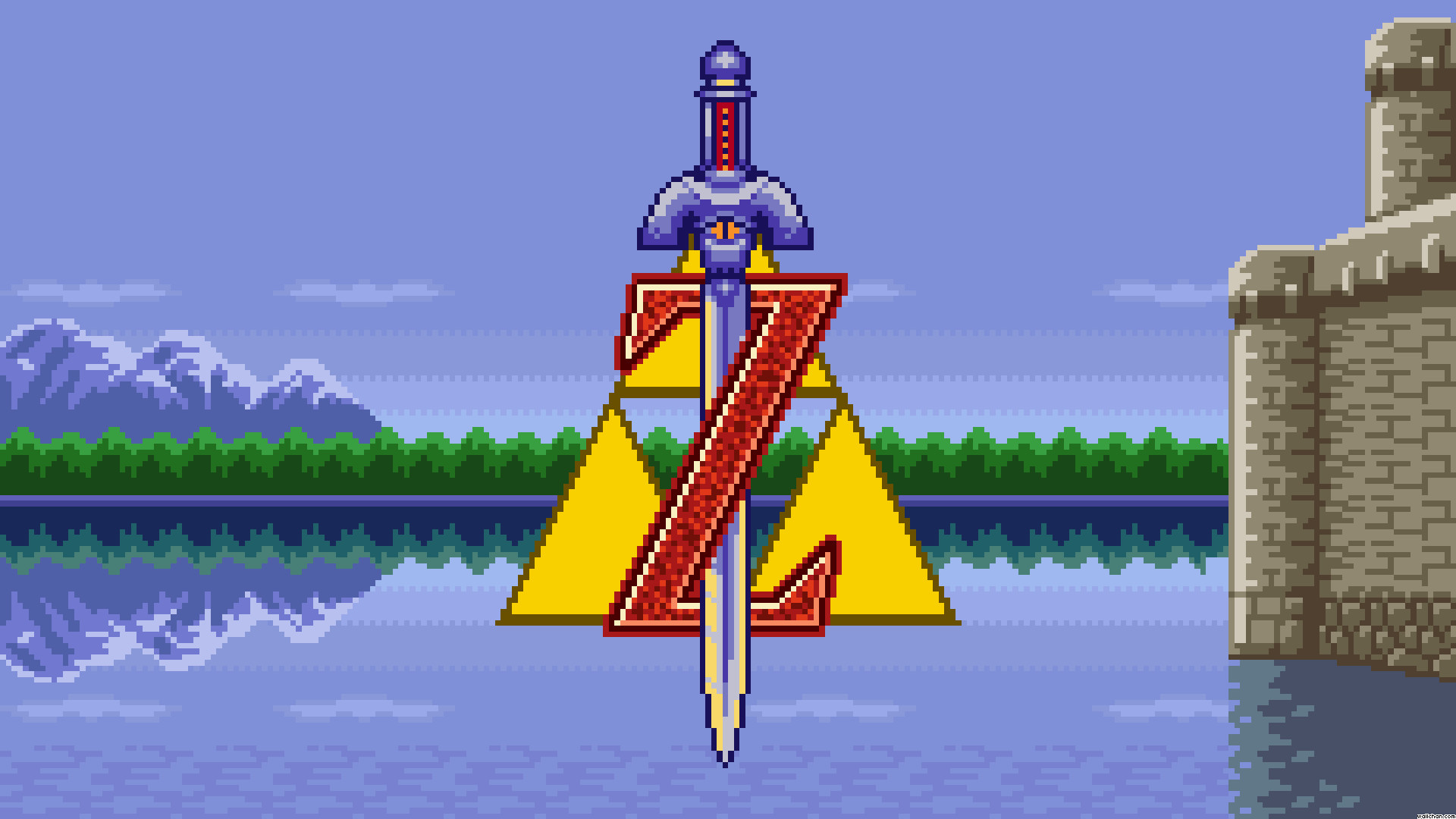 Res: 1920x1080, Legend Of Zelda A Link To The Past Wallpaper - Viewing Gallery