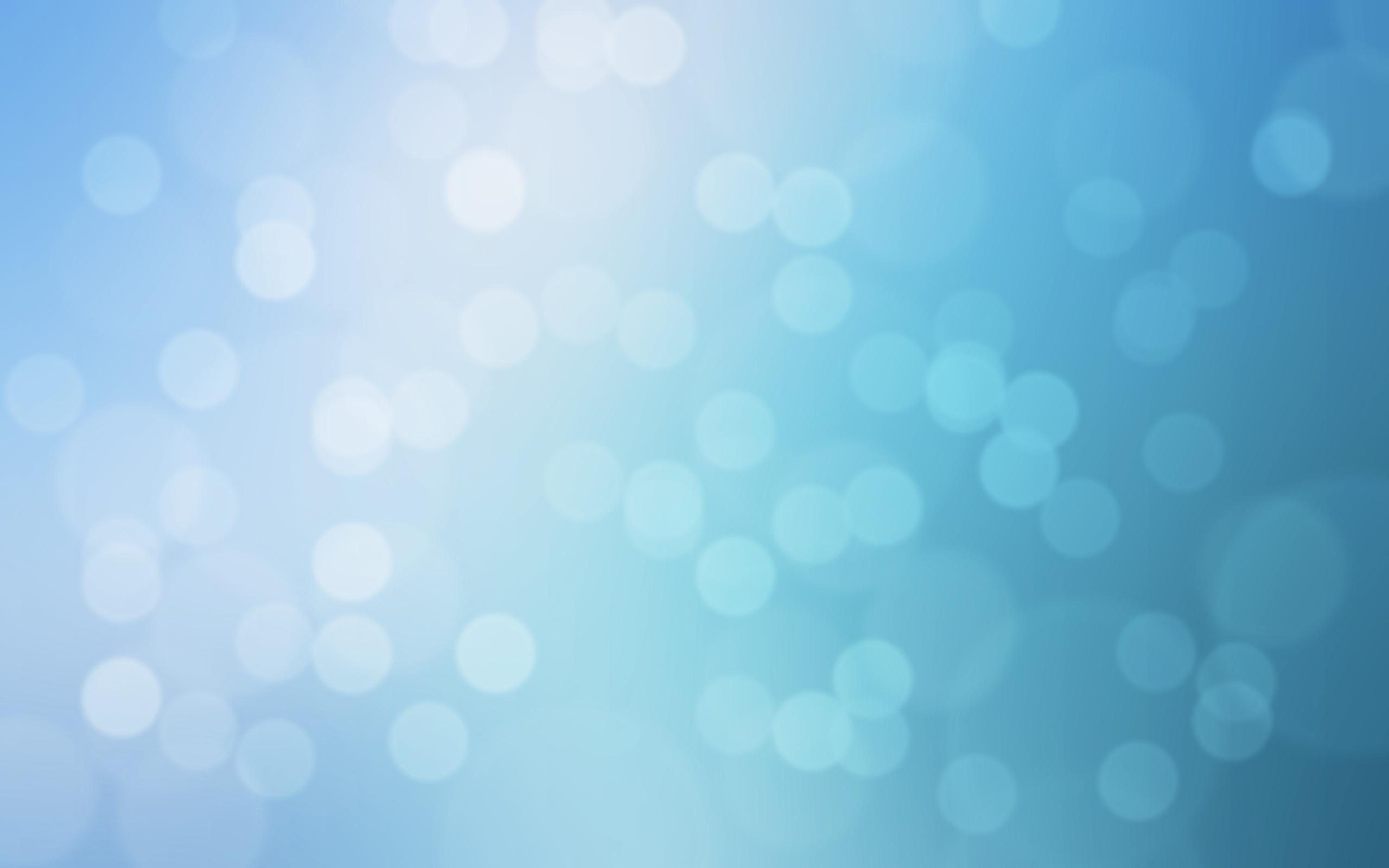 Res: 2560x1600, Blue Bokeh Texture