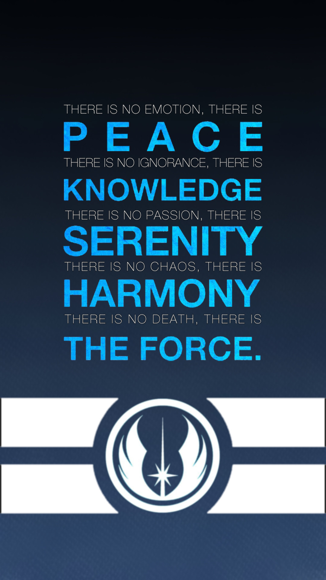 Res: 1080x1920, Movies Wallpaper. Download the following Jedi Code ...