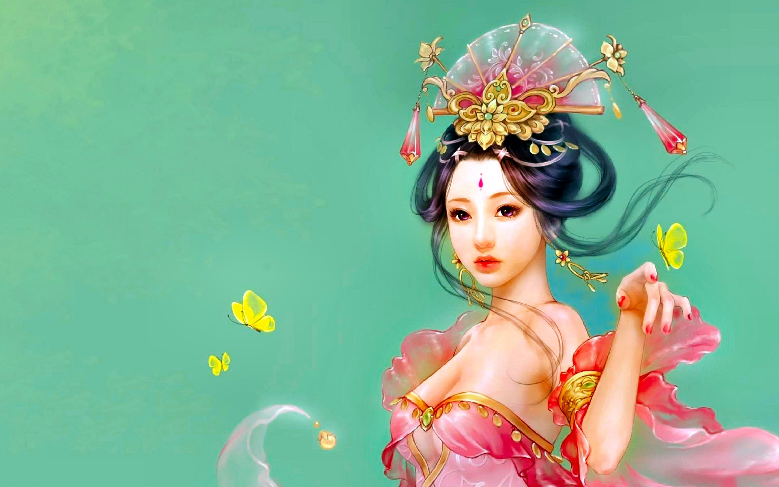 Res: 2960x1850, HD Wallpaper | Background Image ID:334299.  Fantasy Oriental