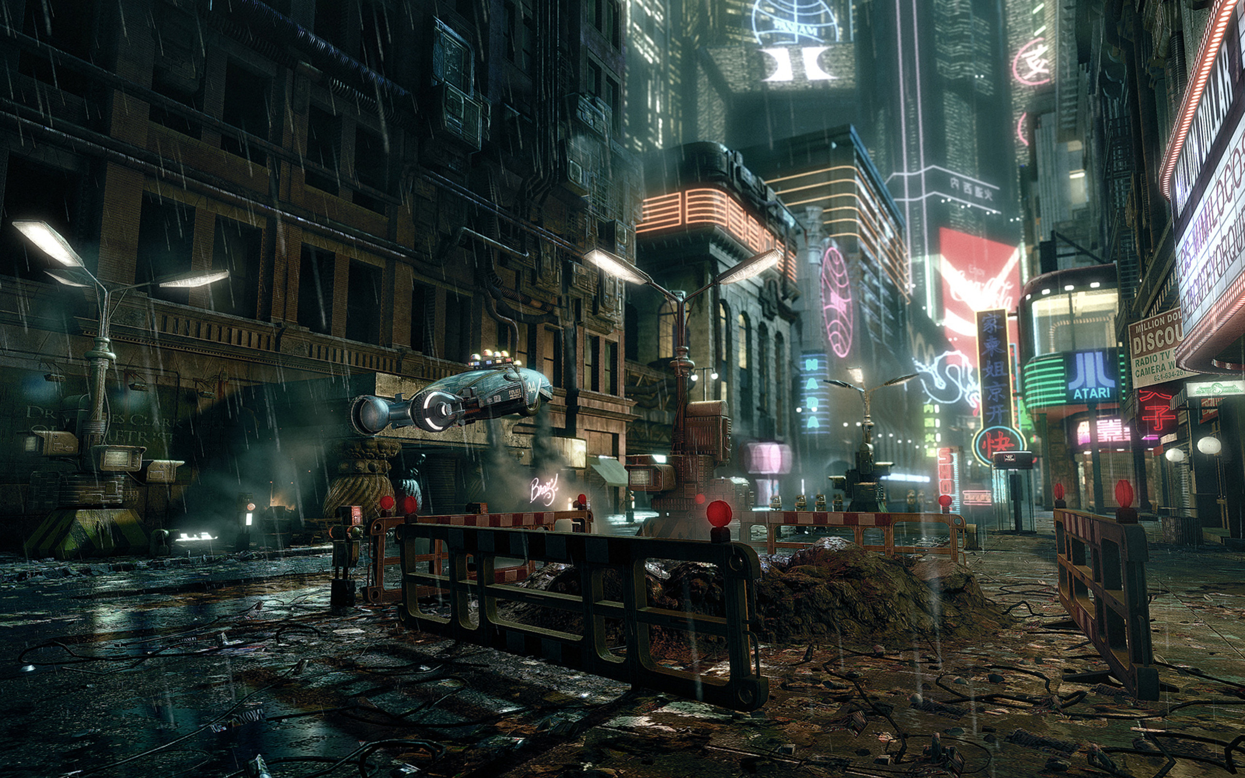 Res: 2560x1600, ... Fantastic Future City Wallpapers FHDQ for Laptop ...