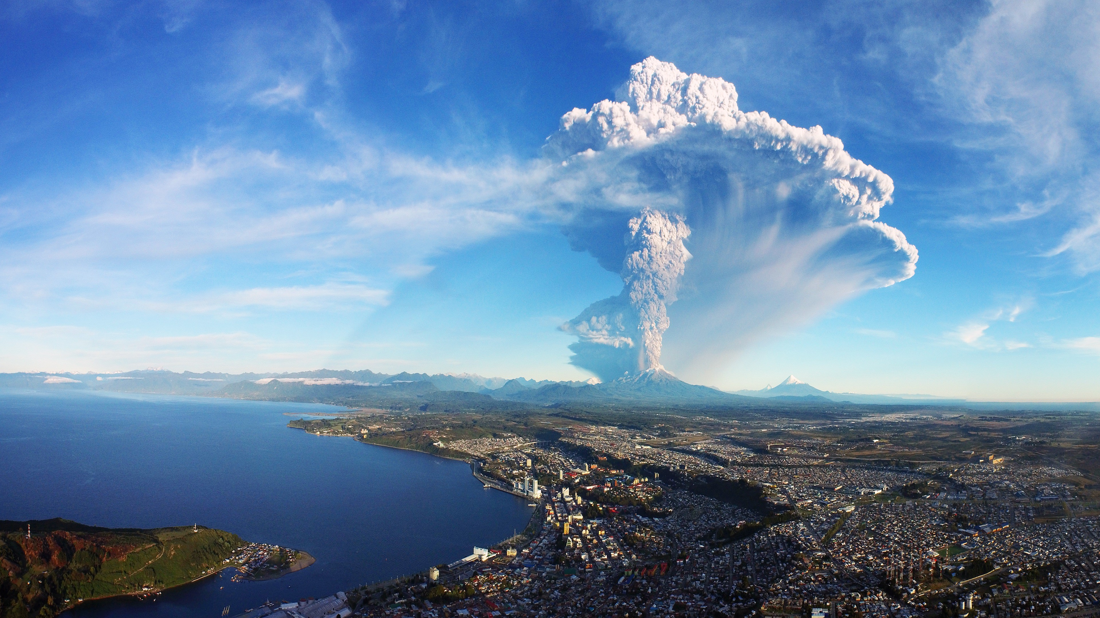 Res: 3840x2160, Calbuco Volcano Eruption Chile 4K Ultra HD Desktop Wallpaper Uploaded by  DesktopWalls