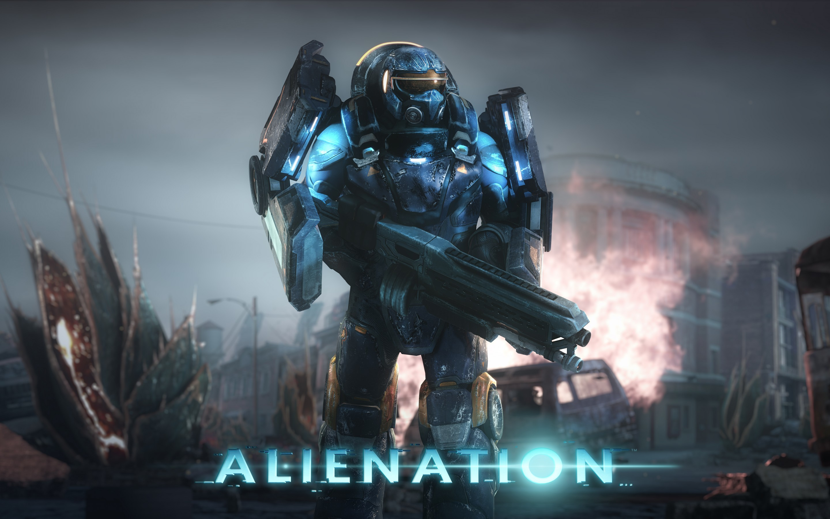 Res: 2880x1800, Games / Alienation Wallpaper