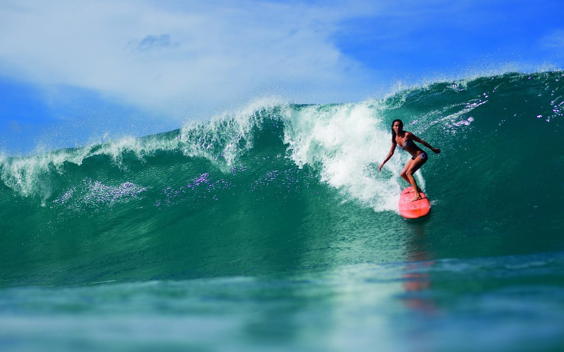 Res: 1920x1200, Surfer Girls 28104