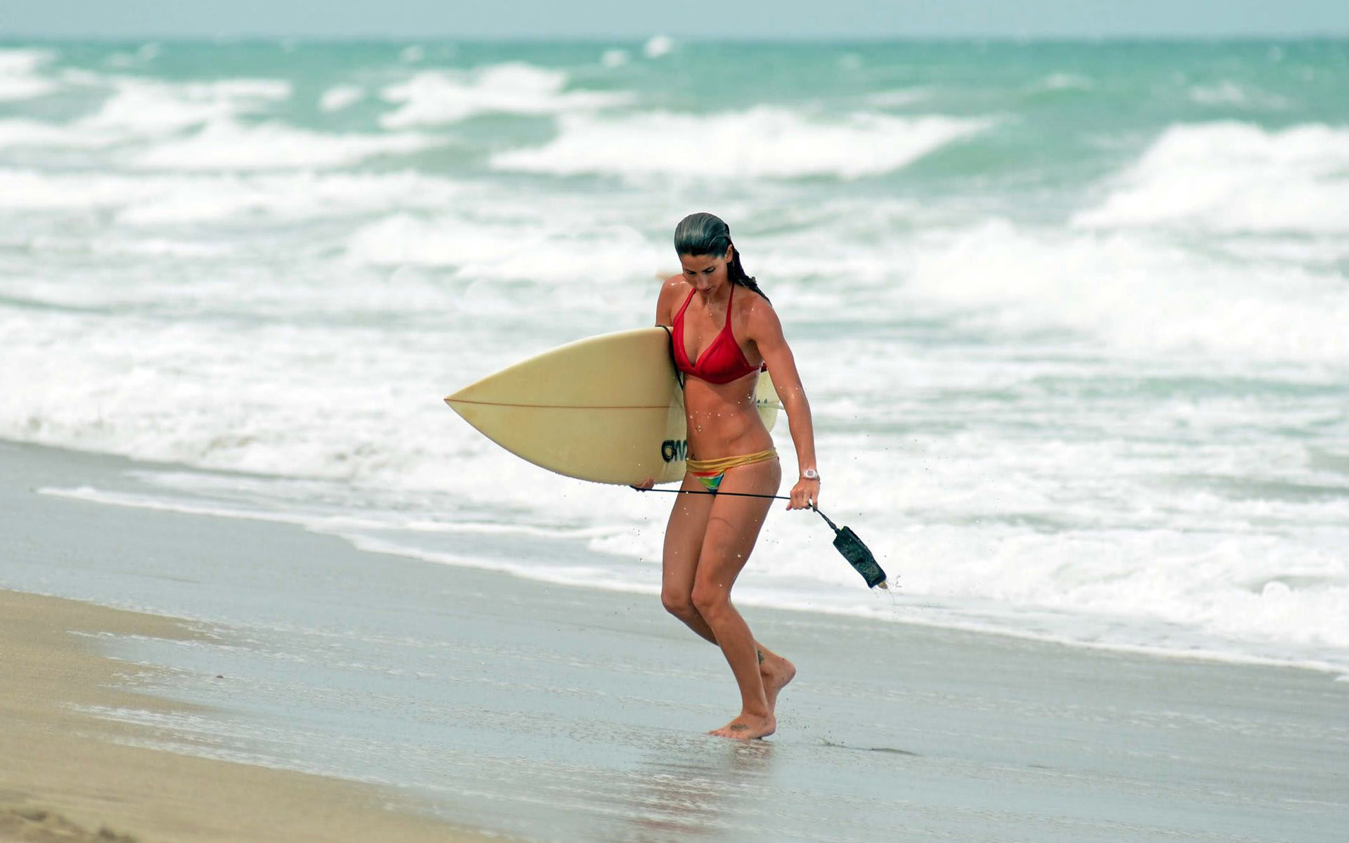 Res: 1920x1200, Surfer girl HD Wallpaper 1920x1080 Surfer girl HD Wallpaper