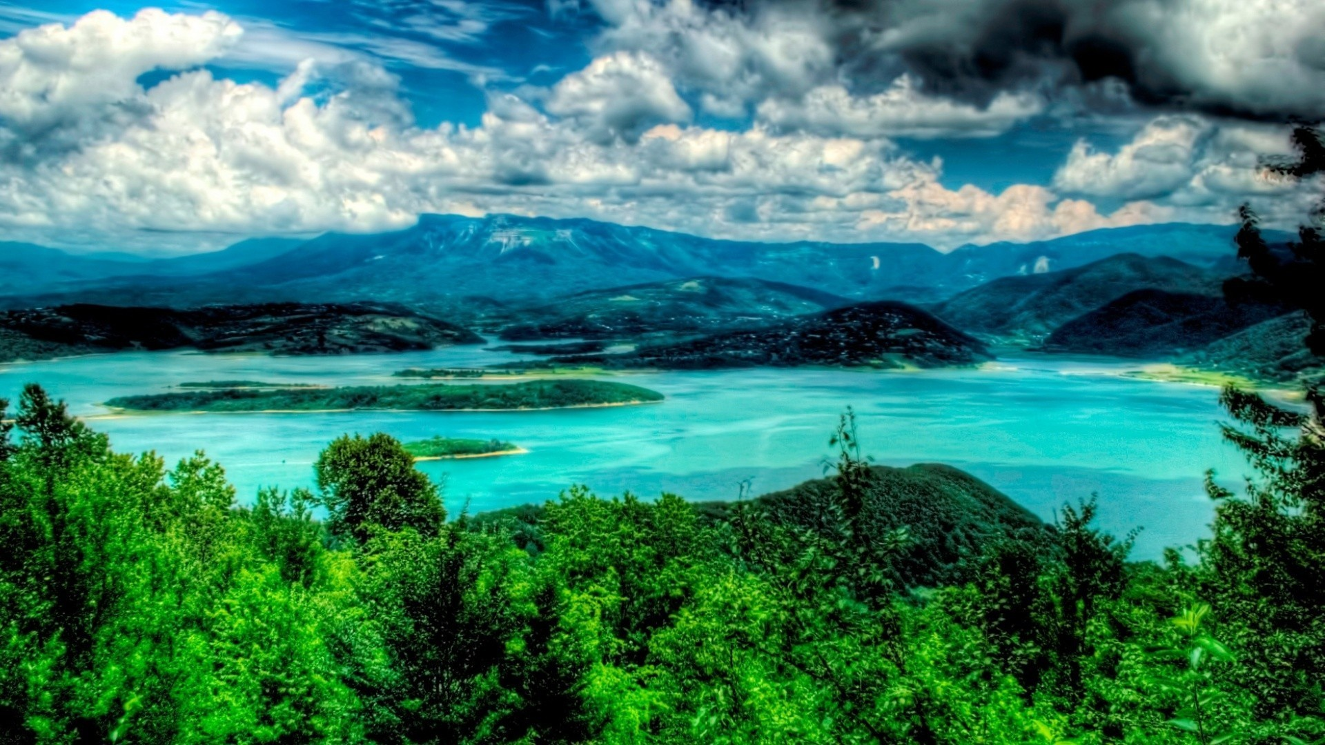Res: 1920x1080, Georgia hdr photography landscapes nature wallpaper. Natur Seife HD  wallpaper