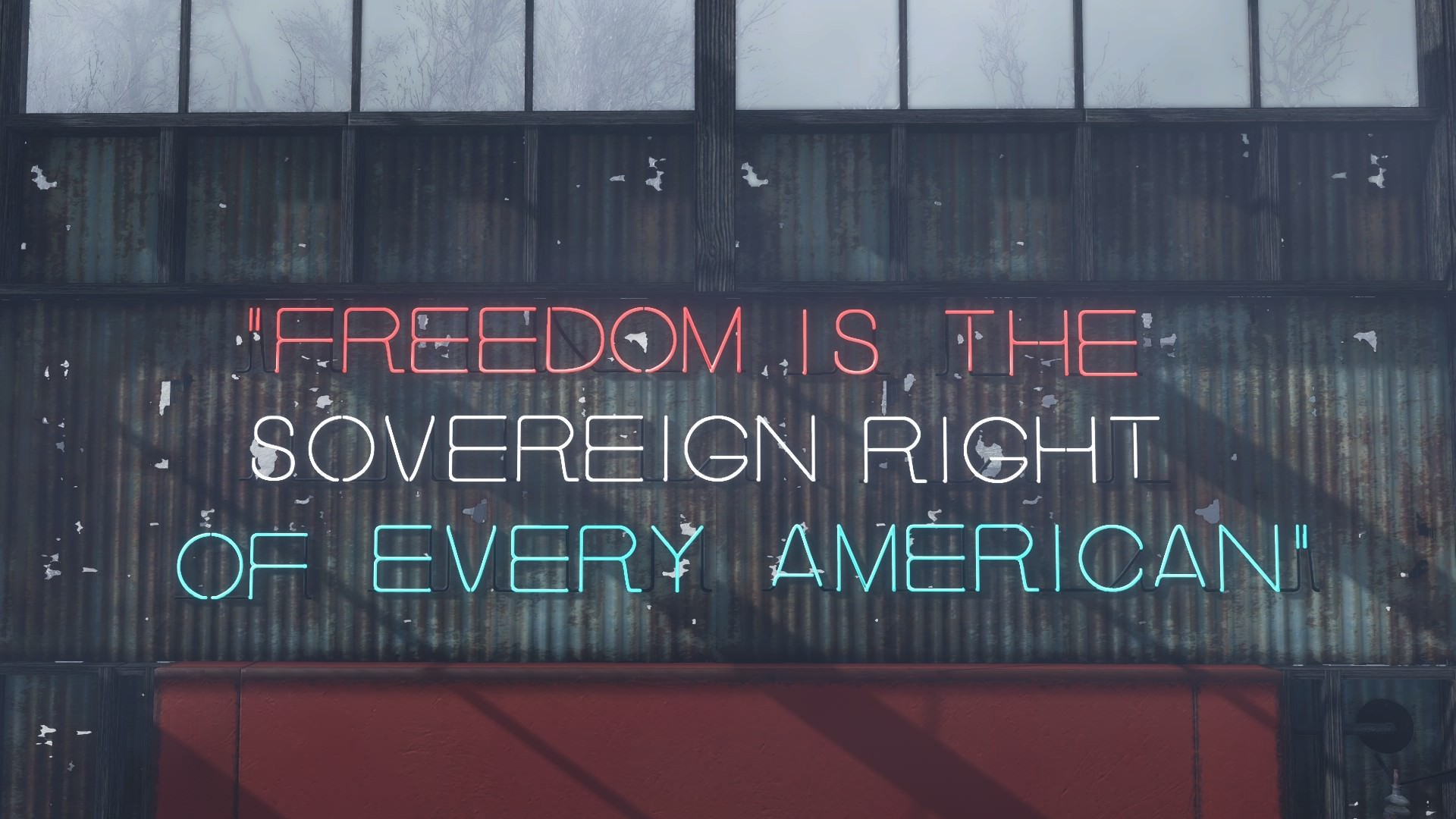 Res: 1920x1080, Daily reminder that if you don't have Liberty Prime quotes in your  settlement, you're a commie.