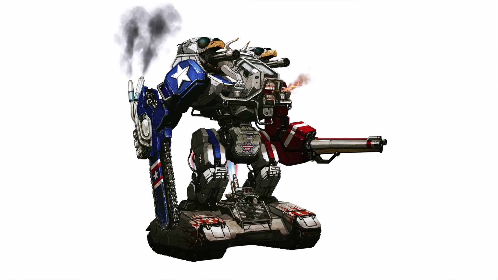 Res: 1920x1080, Liberty Prime confirmed for real life. Megabots, you da real MVP.
