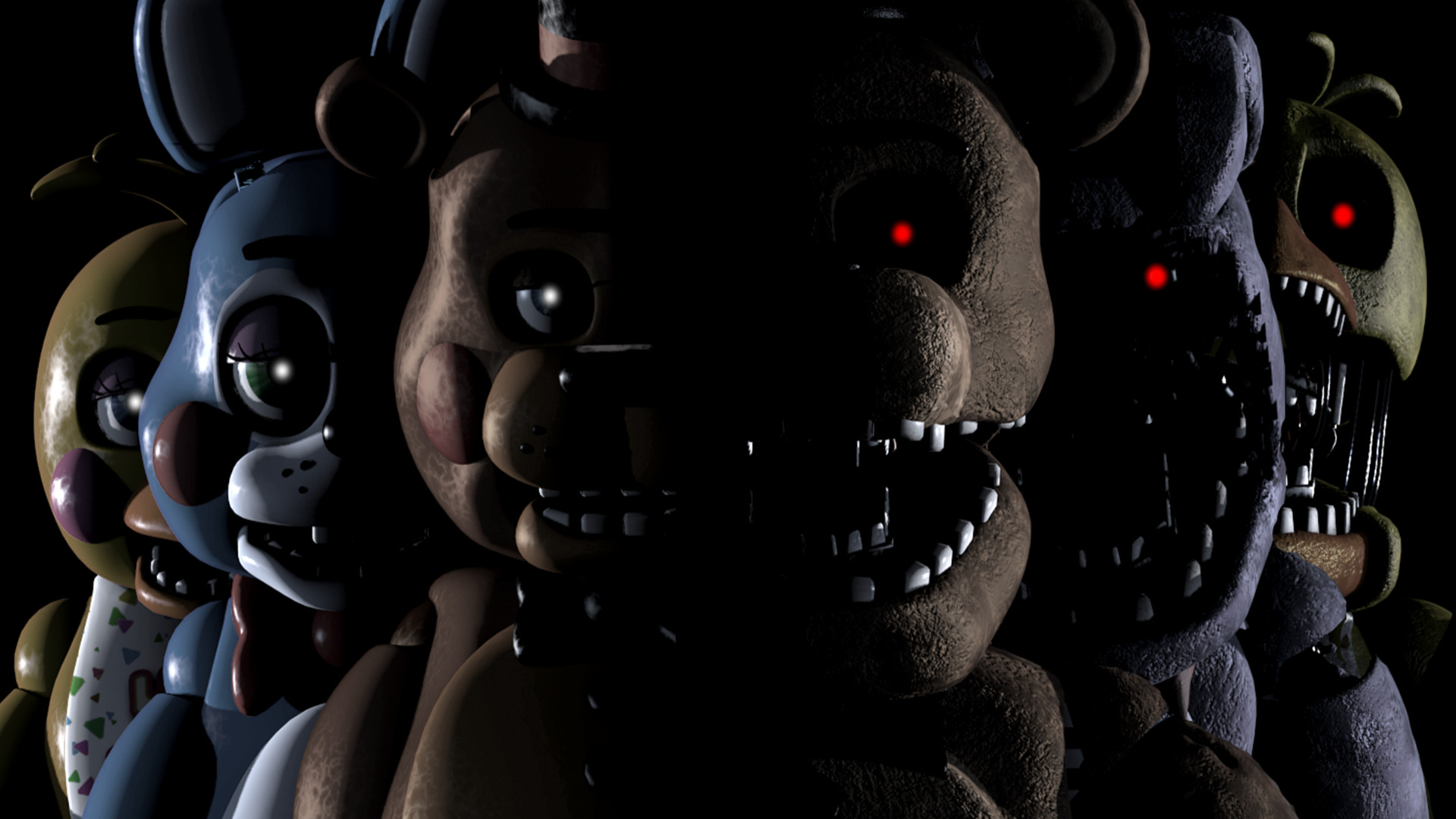 Res: 1920x1080, Five Nights at Freddy's Wallpaper 1080p (1)
