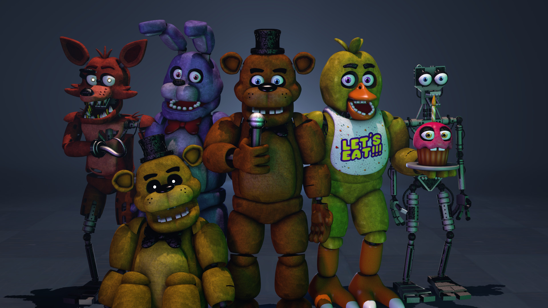 Res: 1920x1080, ... FNaF 1 Generations by MartinFBS