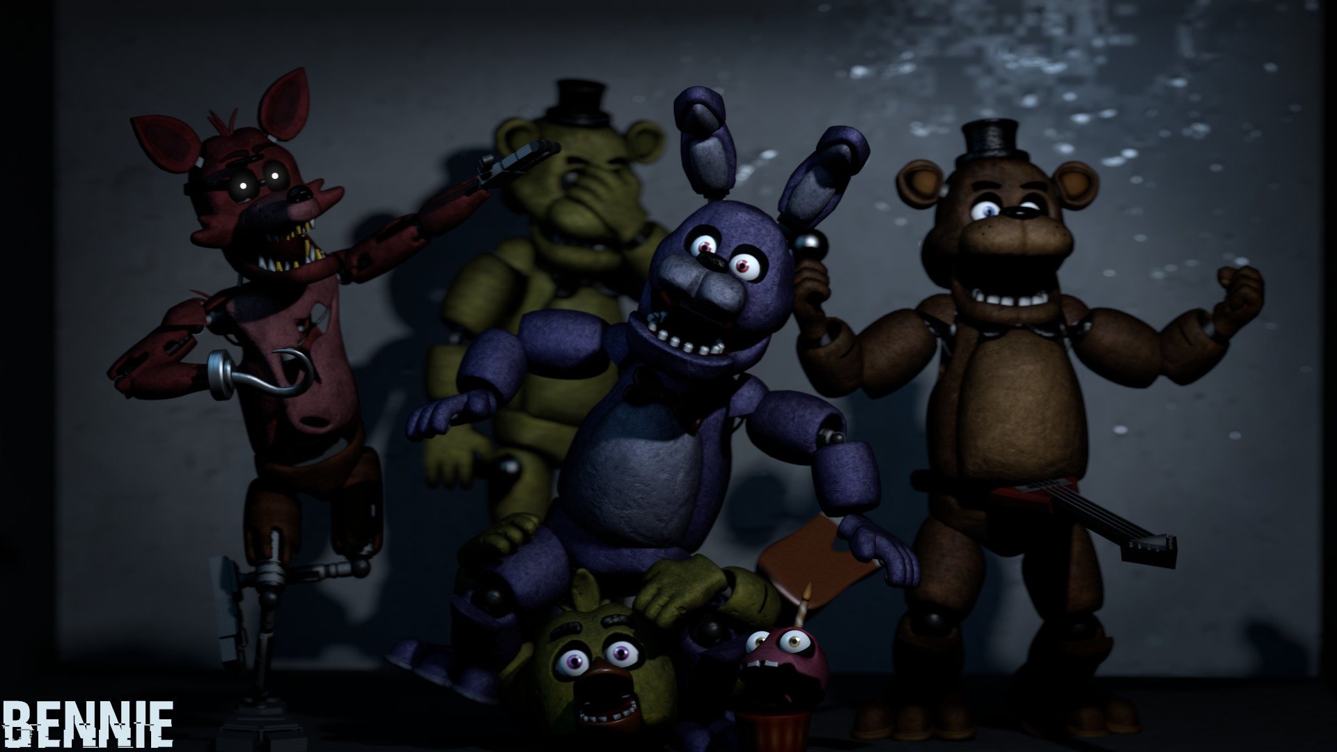 Fnaf 1 Wallpapers Hd Wallpaper Collections 4kwallpaper Wiki