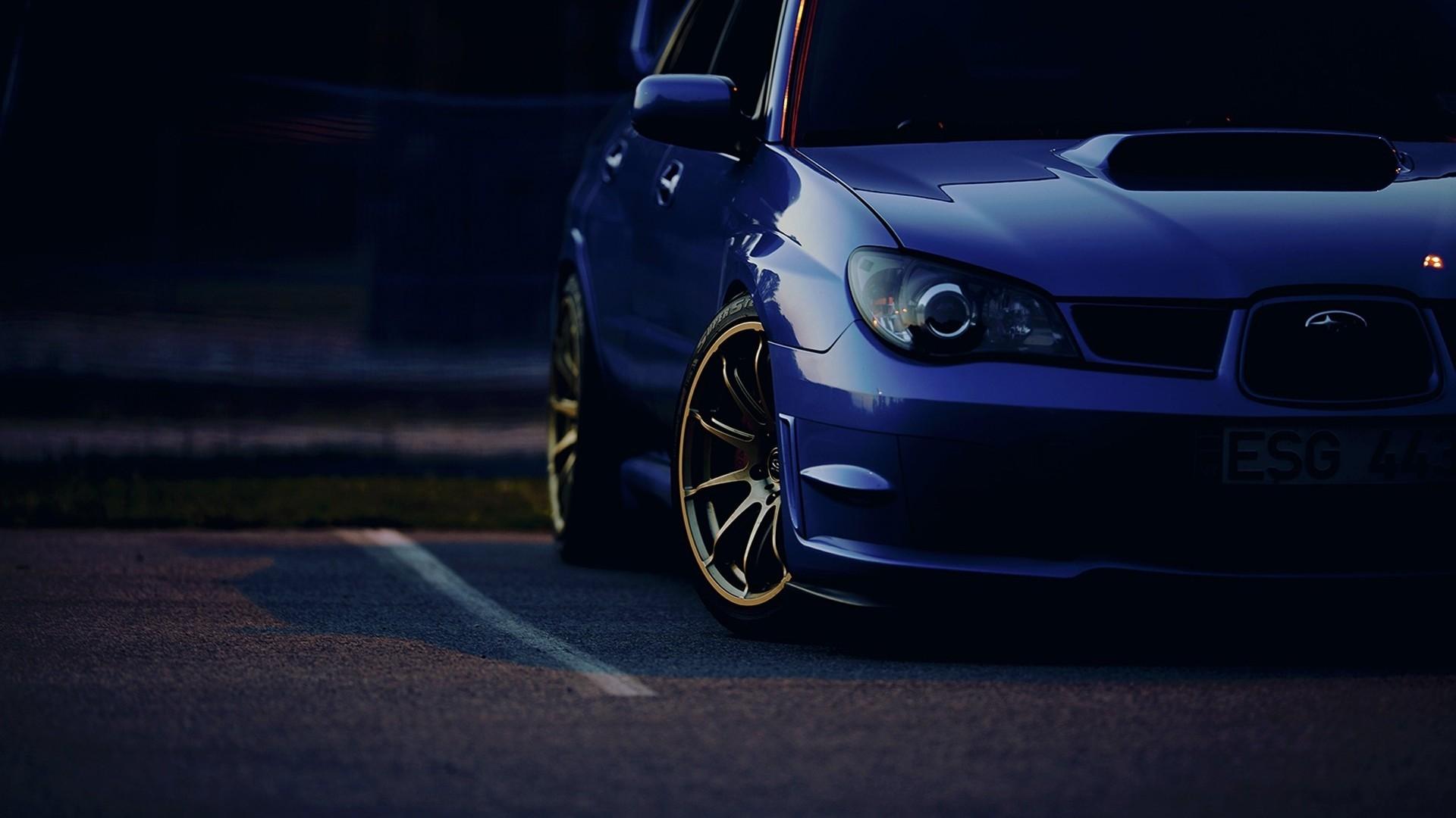 Res: 1920x1080, Subaru Impreza WRX STI Car Wallpaper HD