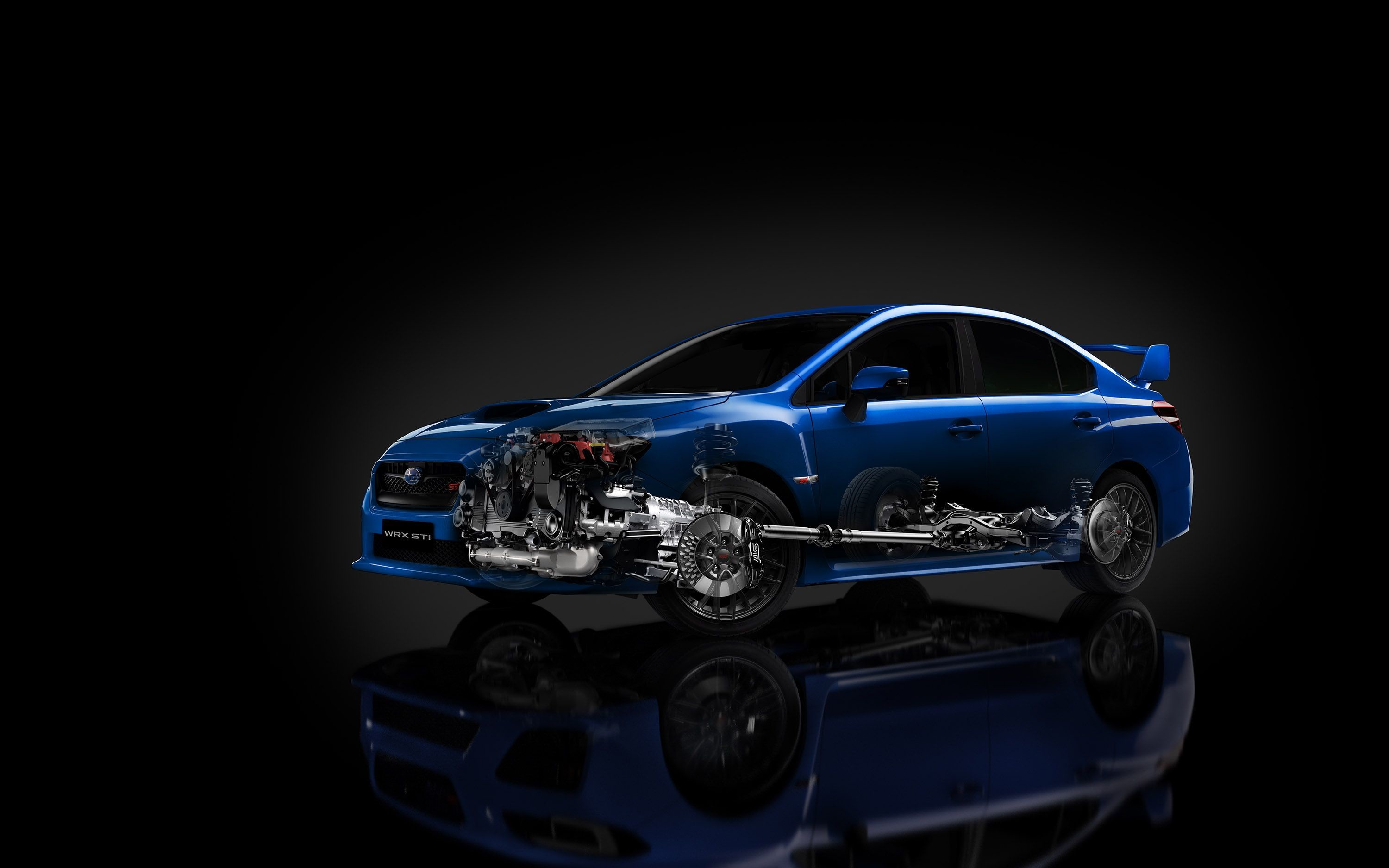 Res: 3000x1875, The 2015 Subaru WRX STI revealed with a meaner look and 305 bhp engine to  back it up.