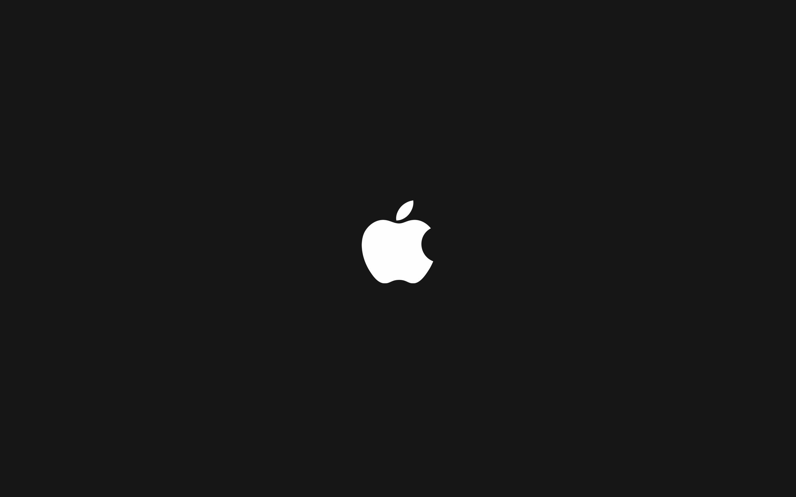 Res: 2560x1600,  Bild: Apple-Logo (schwarz) wallpapers and stock photos. Â«