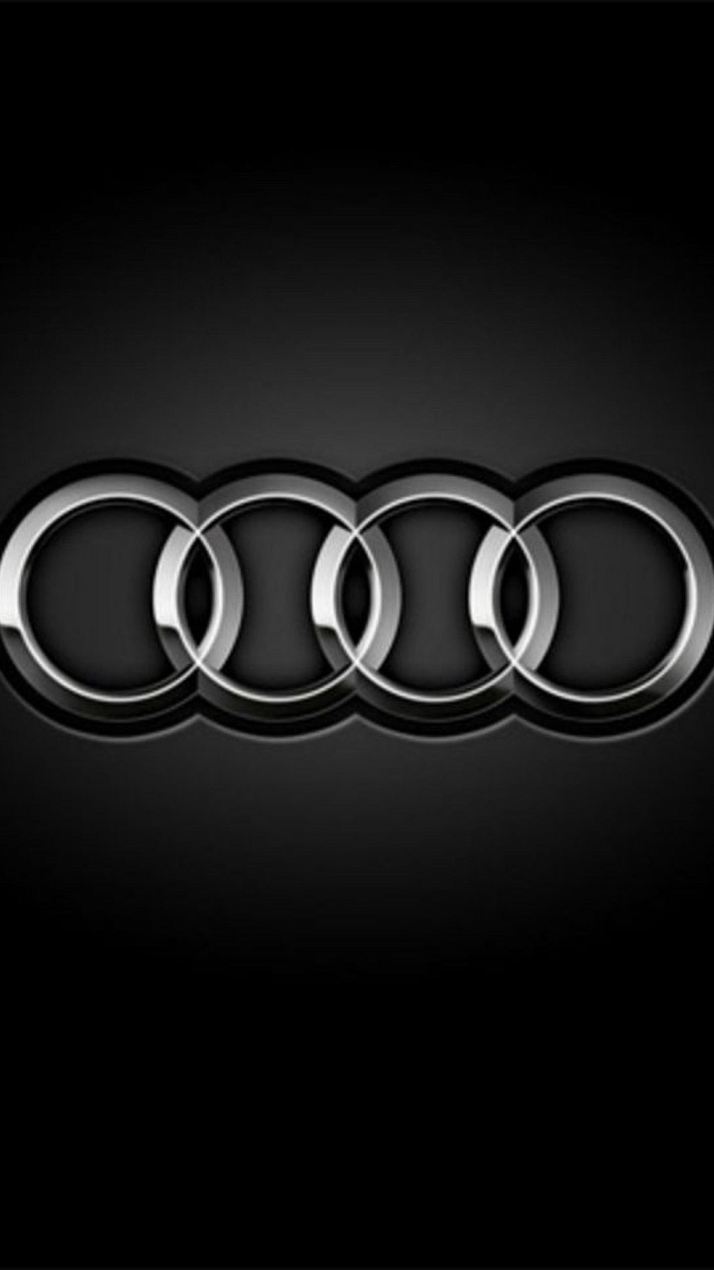 Res: 1440x2560, Audi Logo Wallpaper