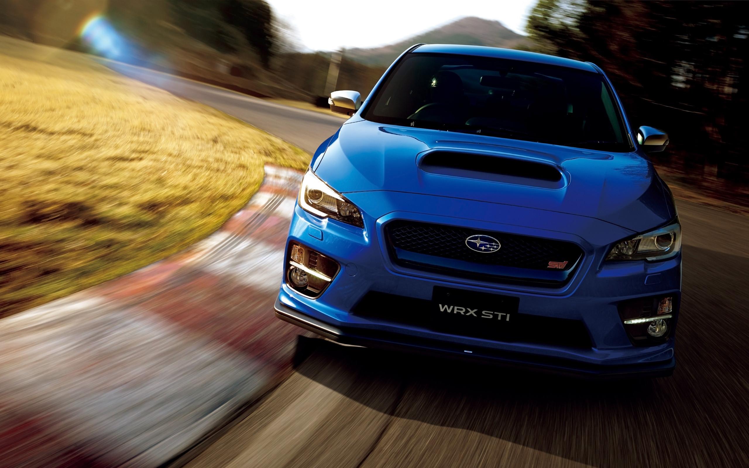 Res: 2560x1600, 2015 Subaru WRX STI Japan Wallpaper