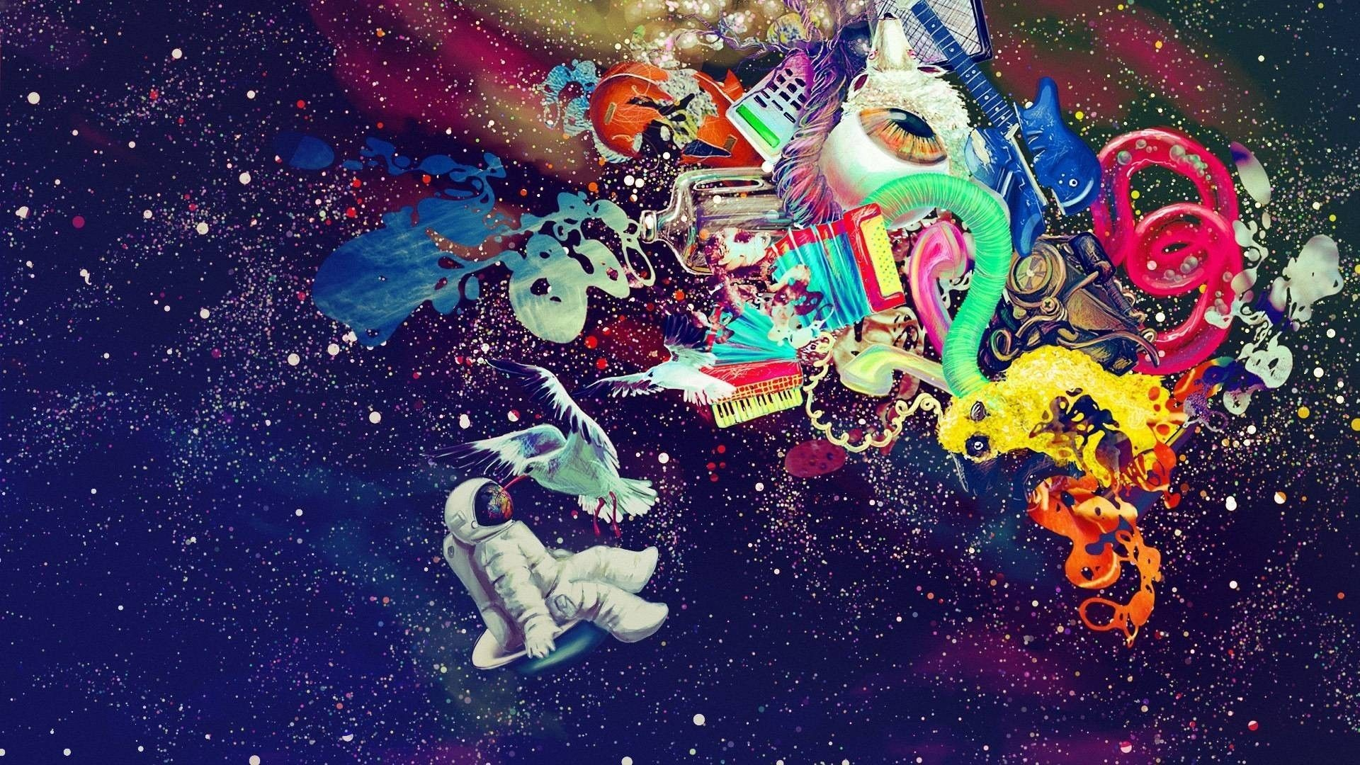 Res: 1920x1080, Trippy Art Desktop Wallpaper | Best HD Wallpapers