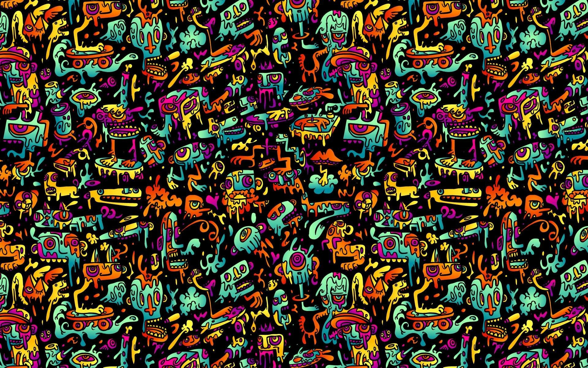 Res: 1920x1200, Art & Creative Wallpapers. Download the following Psychedelic Desktop ...