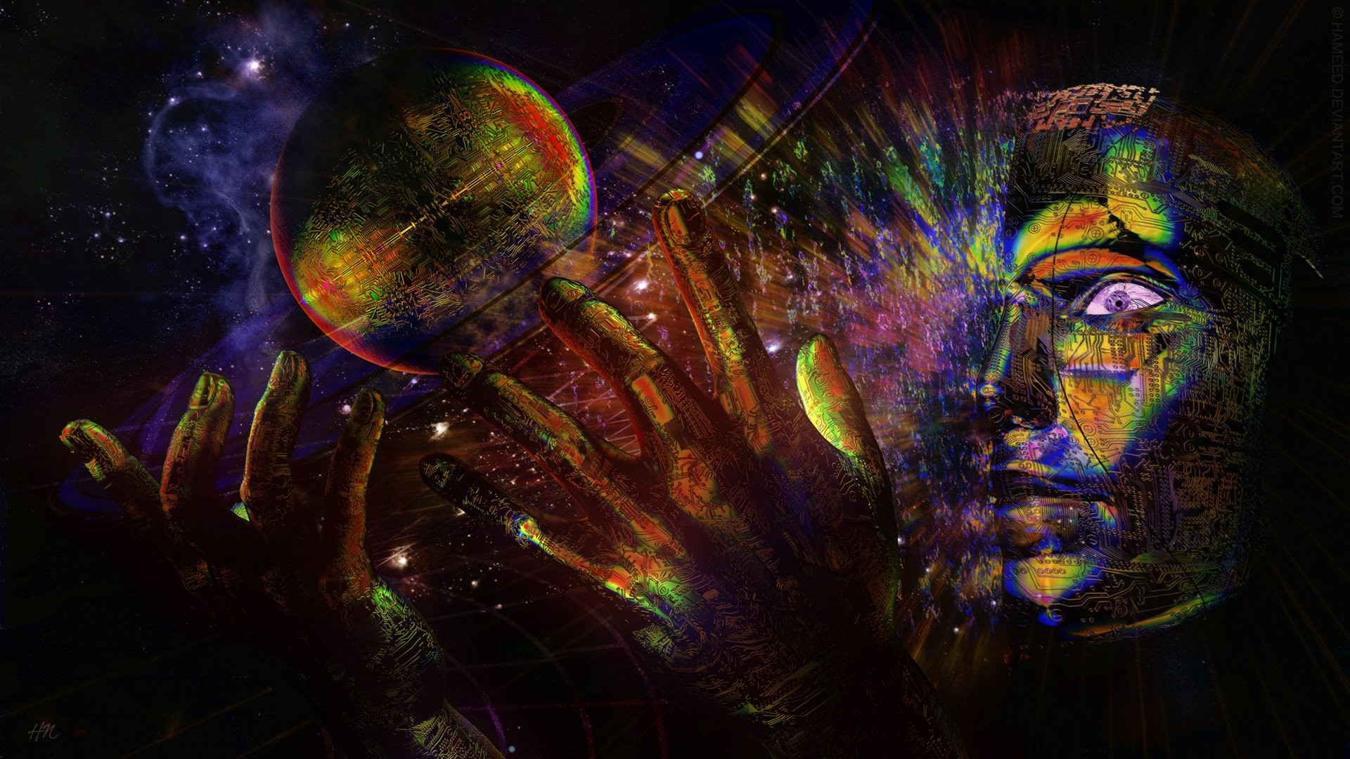 Res: 1920x1080, HD Wallpaper | Background Image ID:235341.  Artistic Psychedelic