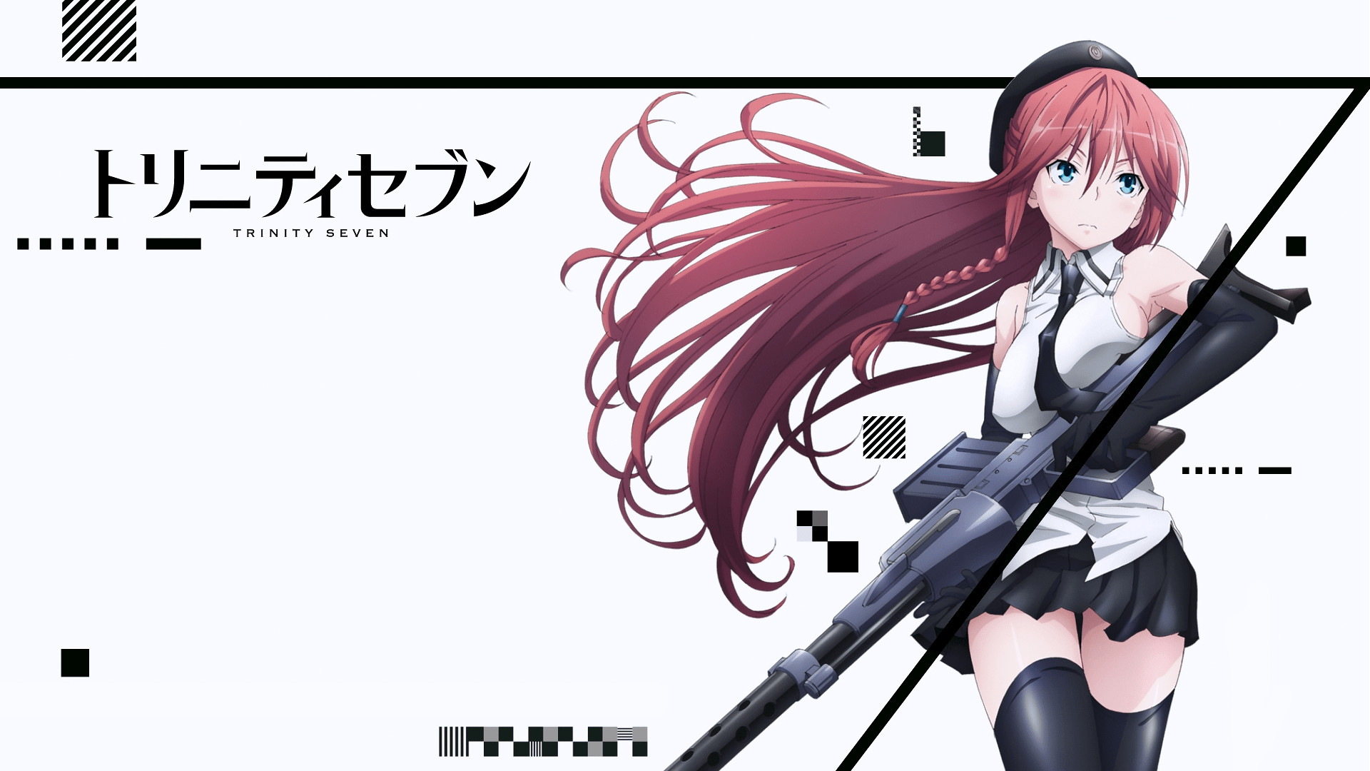 Res: 1920x1080, Trinity Seven Lilith Asami 1080p HD Wallpaper Background