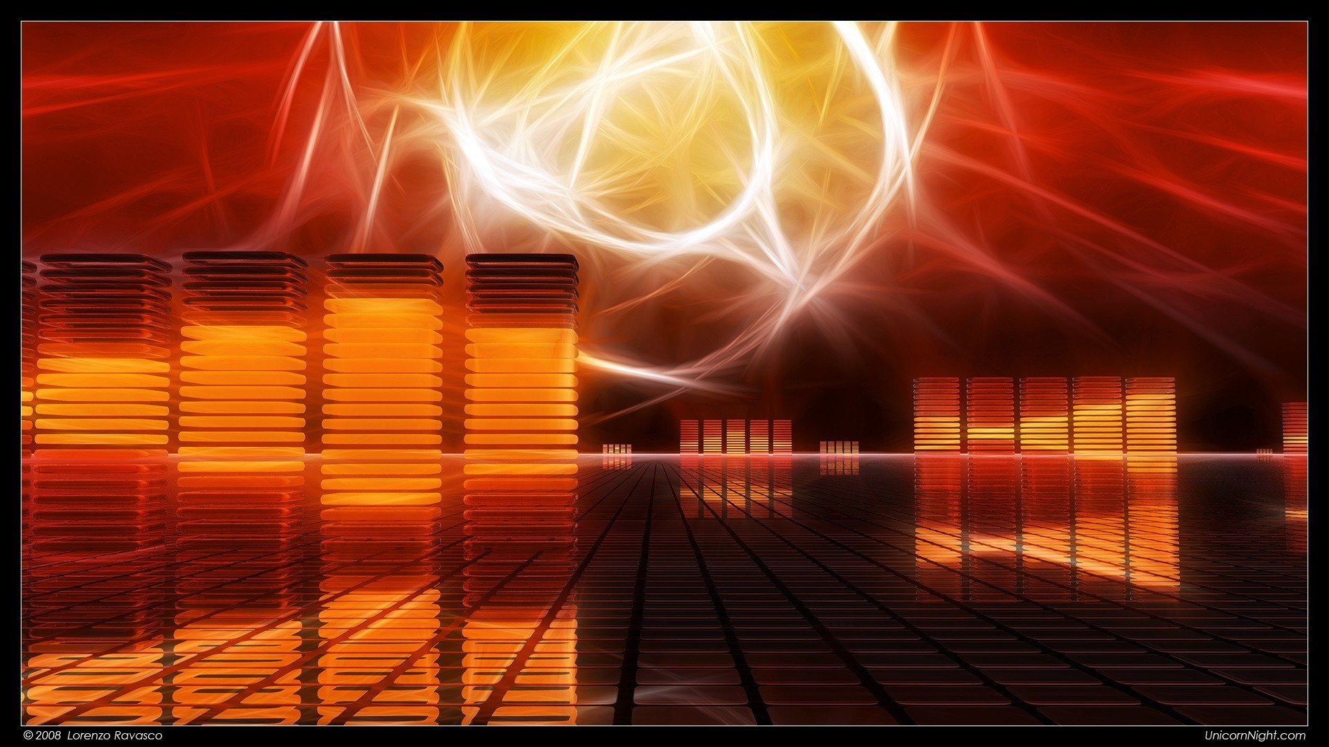 Res: 1920x1080, Abstract - Orange Artistic Abstract Wallpaper