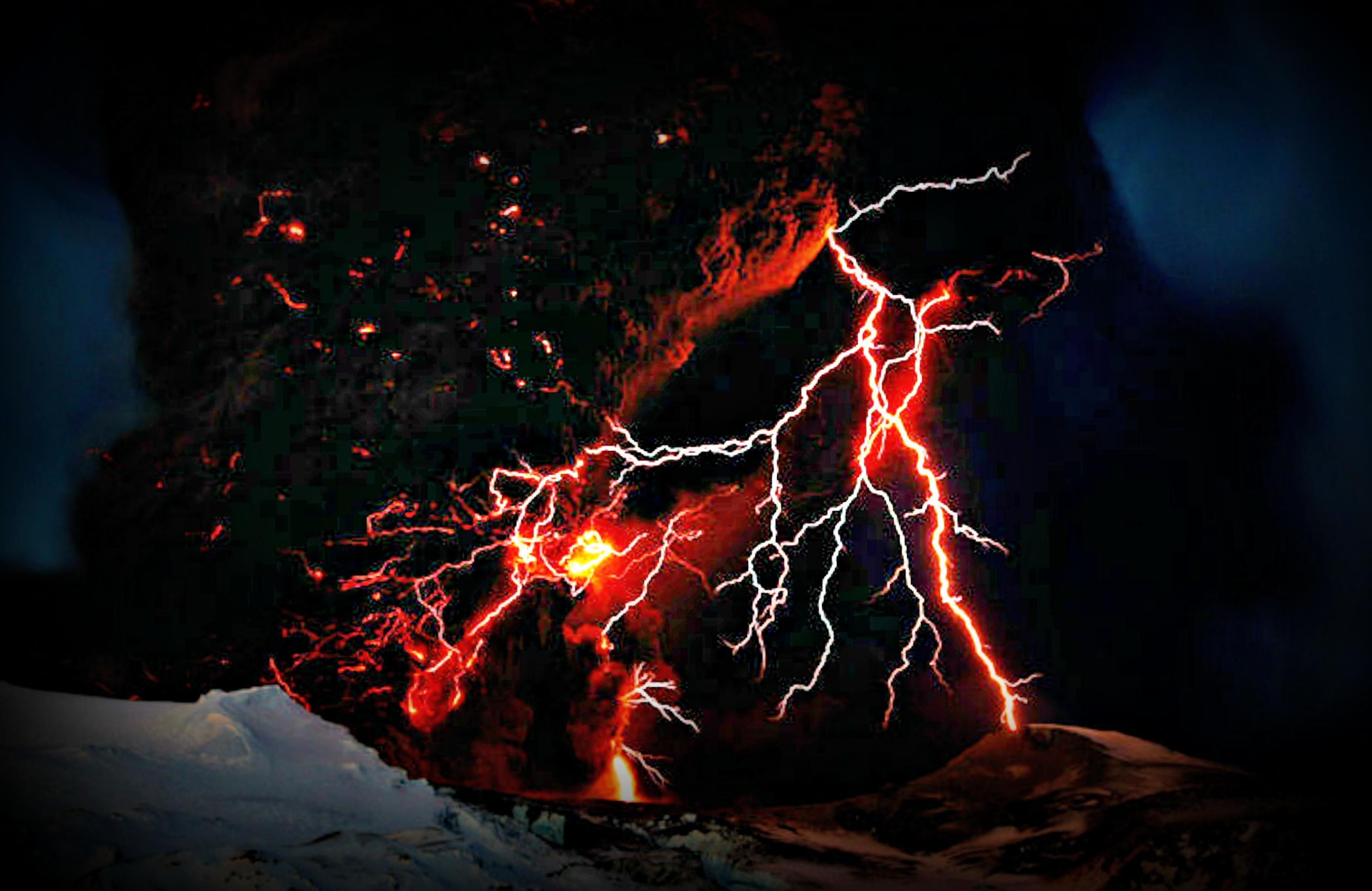Res: 3028x1968, Lightning Wallpaper Unique Volcanic Lightning Wallpaper 64 Images