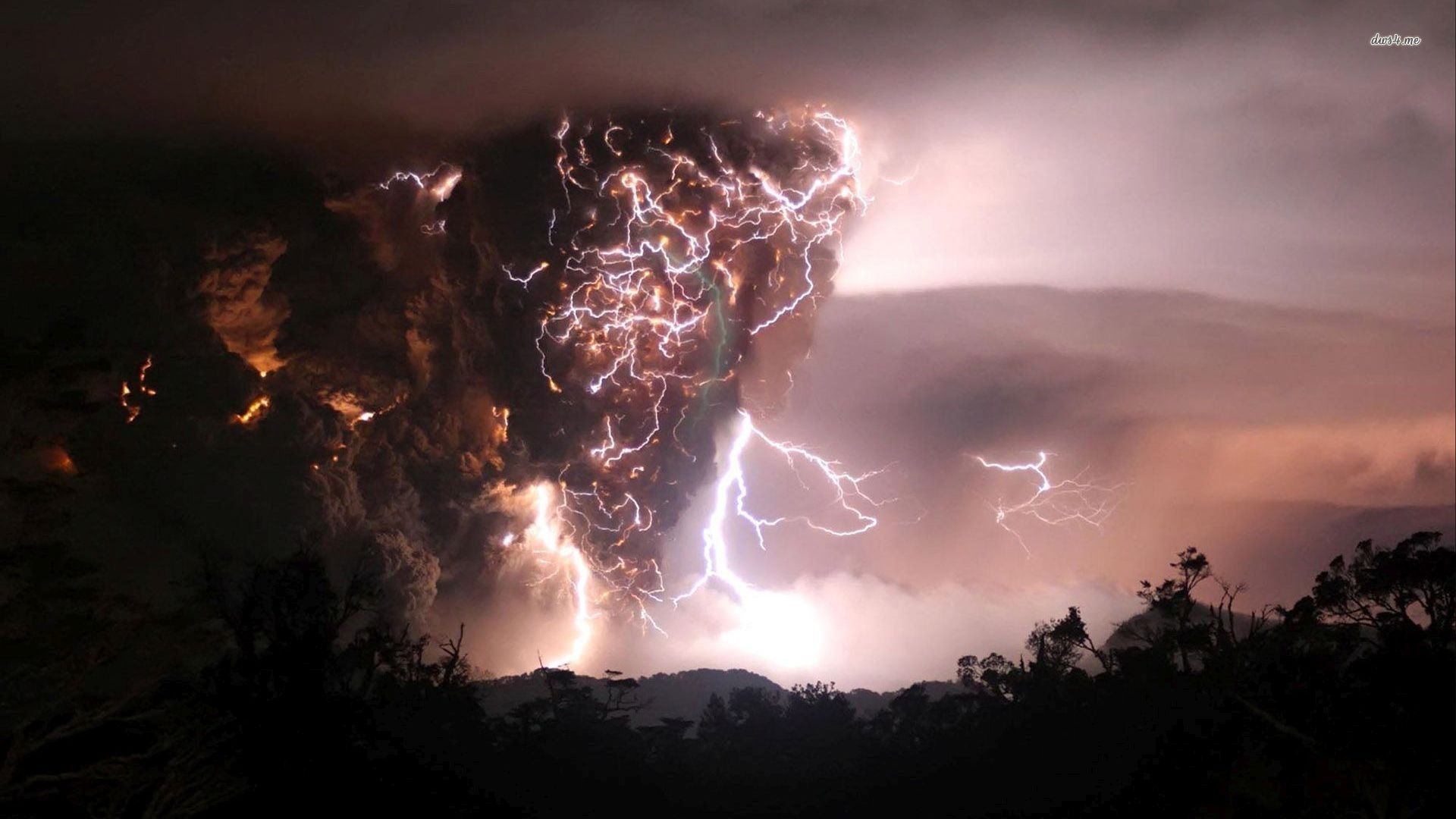 Res: 1920x1080, volcanic lightning wallpaper 28 get hd wallpapers free