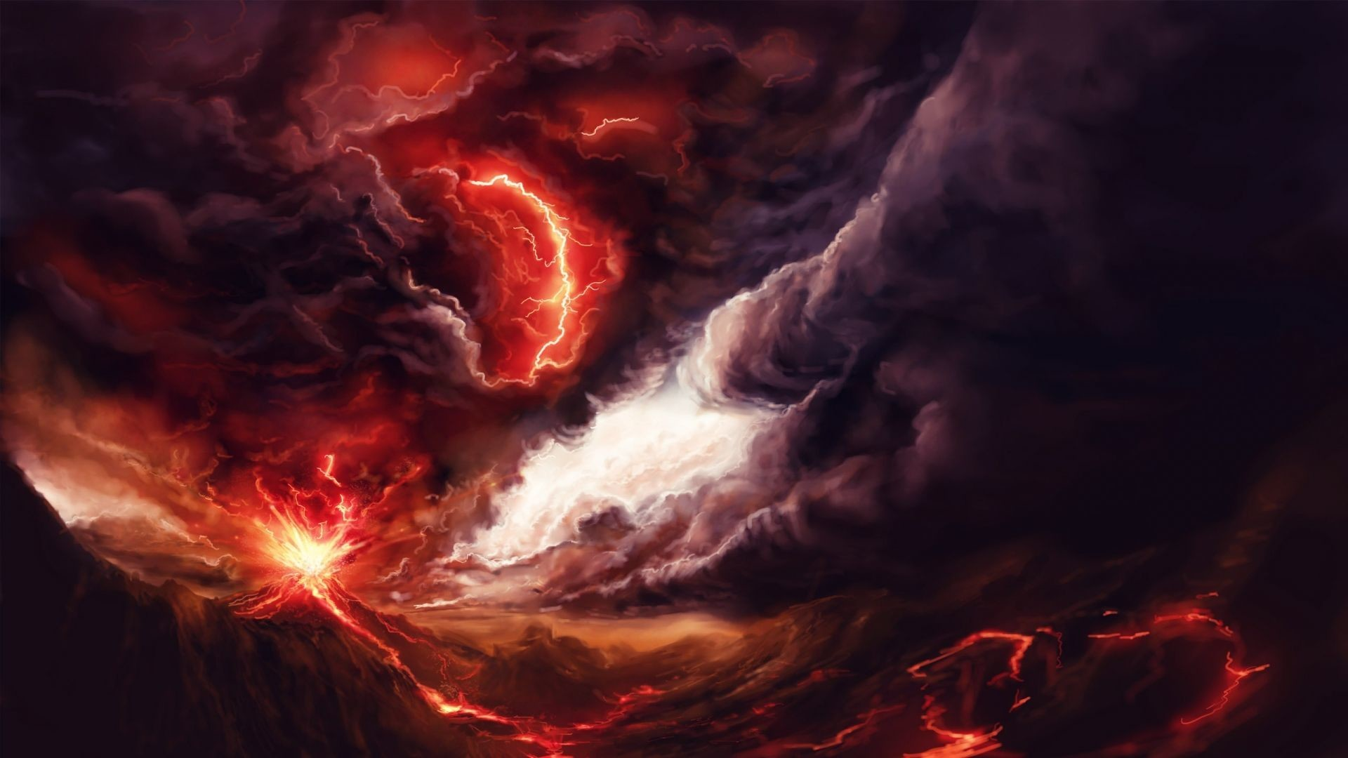 Res: 1920x1080, Volcanic Eruption From Space wallpapers Wallpapers) – Art Wallpapers.  a46da890036e01223d14d1a456501e86.jpg 1,920×1,080 pixels