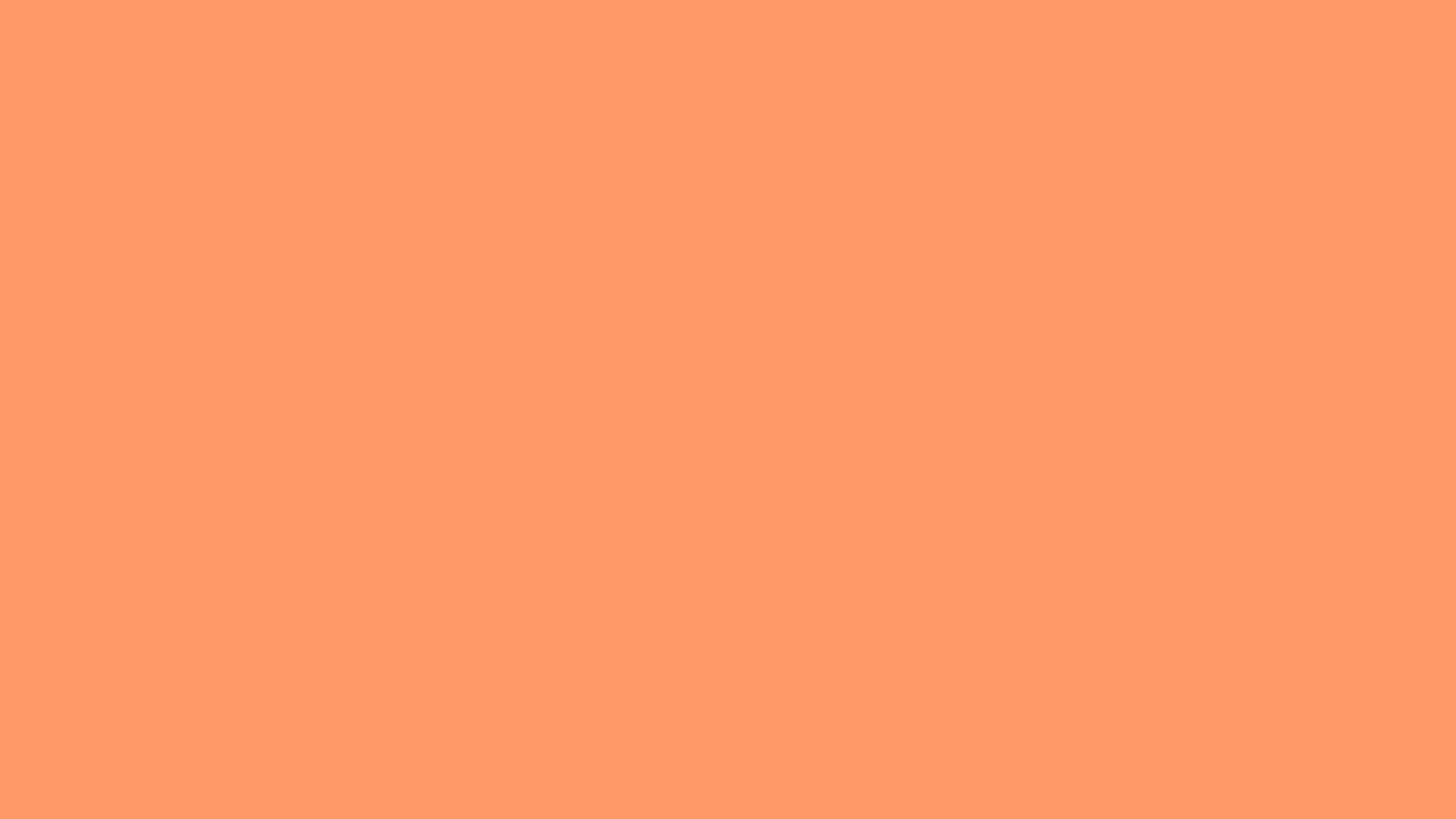 Res: 2560x1440, Solid Color Orange