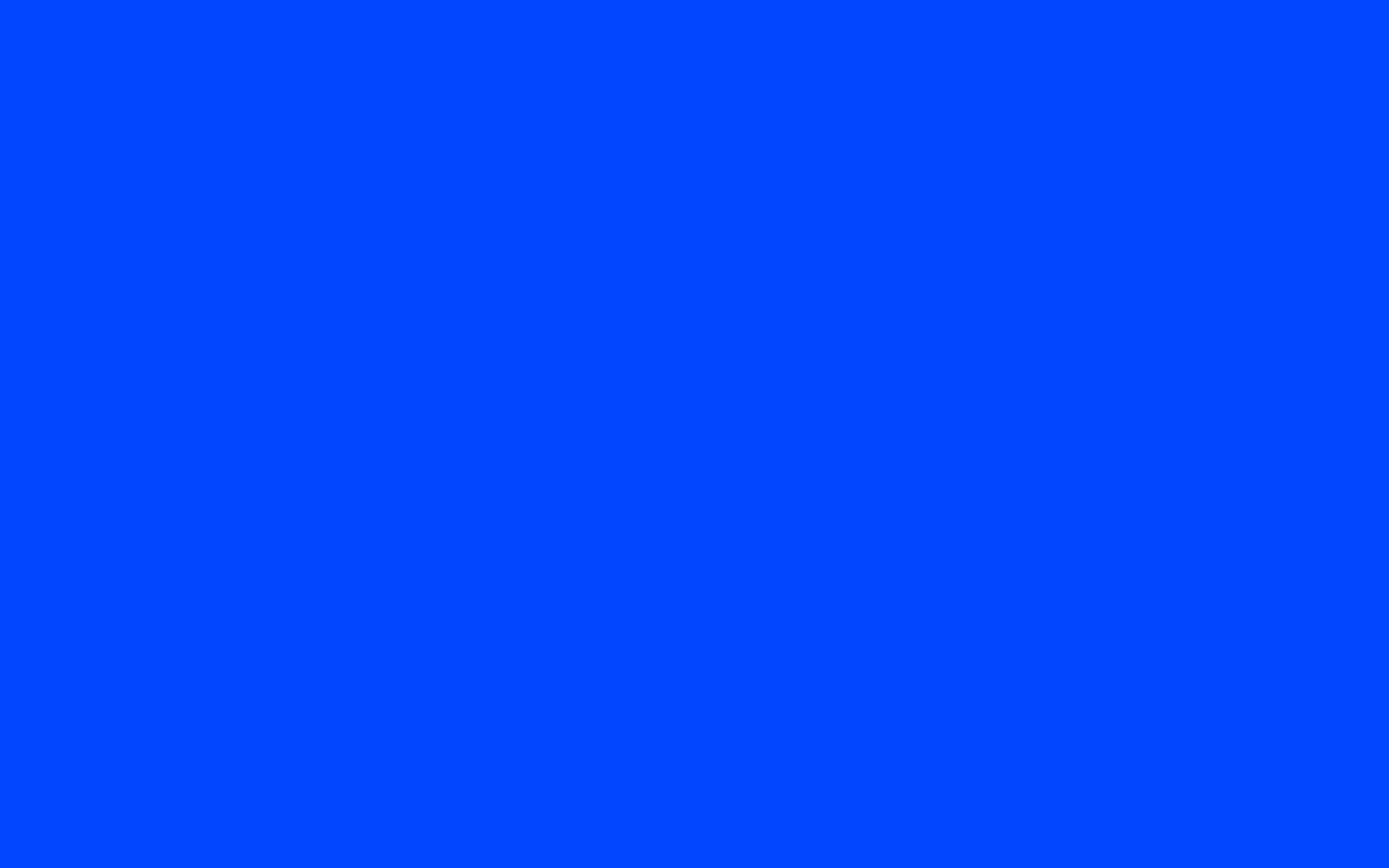 Res: 2560x1600, solid blue wallpaper