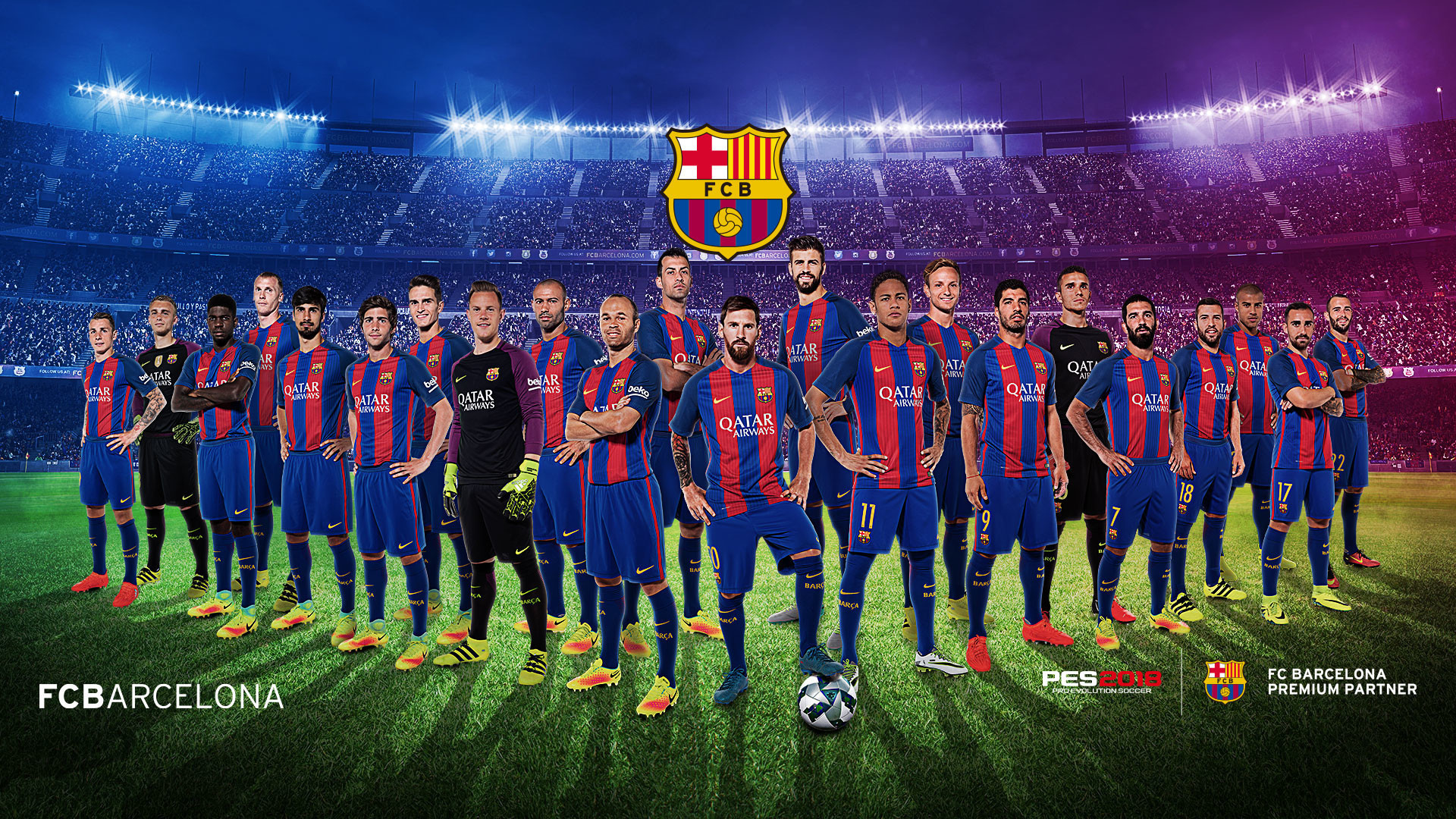 Res: 1920x1080, FC Barcelona Wallpapers 21 - 1920 X 1080
