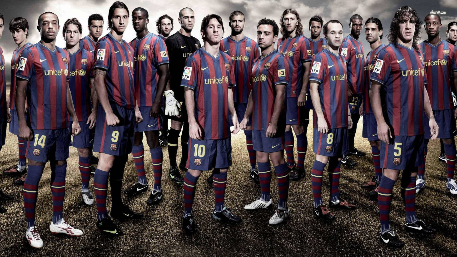 Res: 1920x1080, FC Barcelona 13/14 Home + Away Kits Released + Third Kit Info